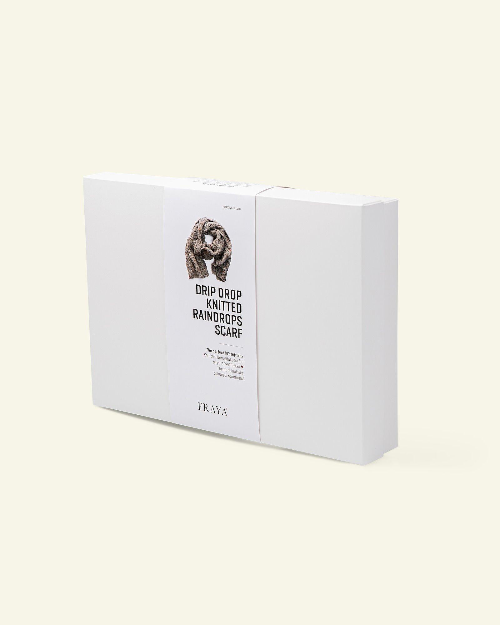 DIY Gift Box strickschal