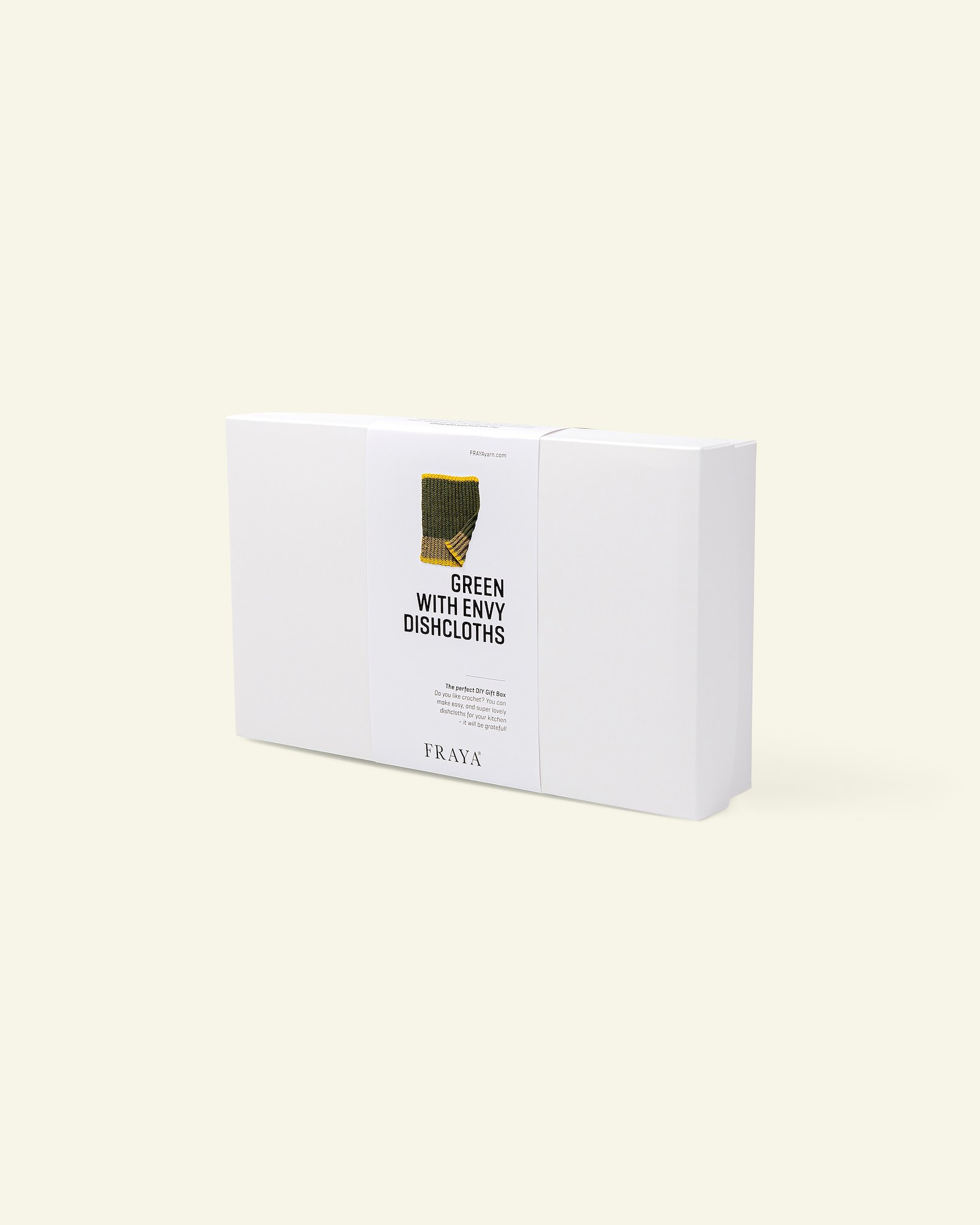 DIY Gift Box clean lines dishtowel