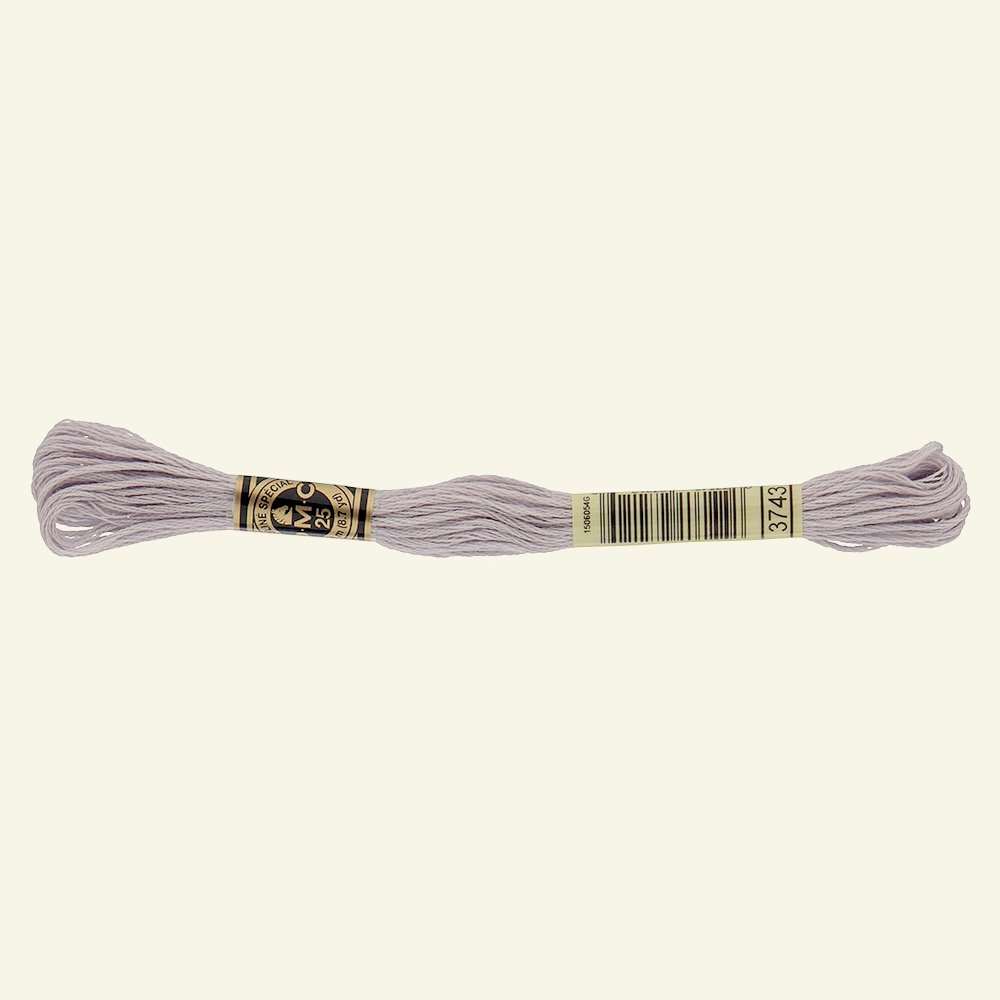 DMC emb. yarn 3743 dusty heather 8m 35248_pack