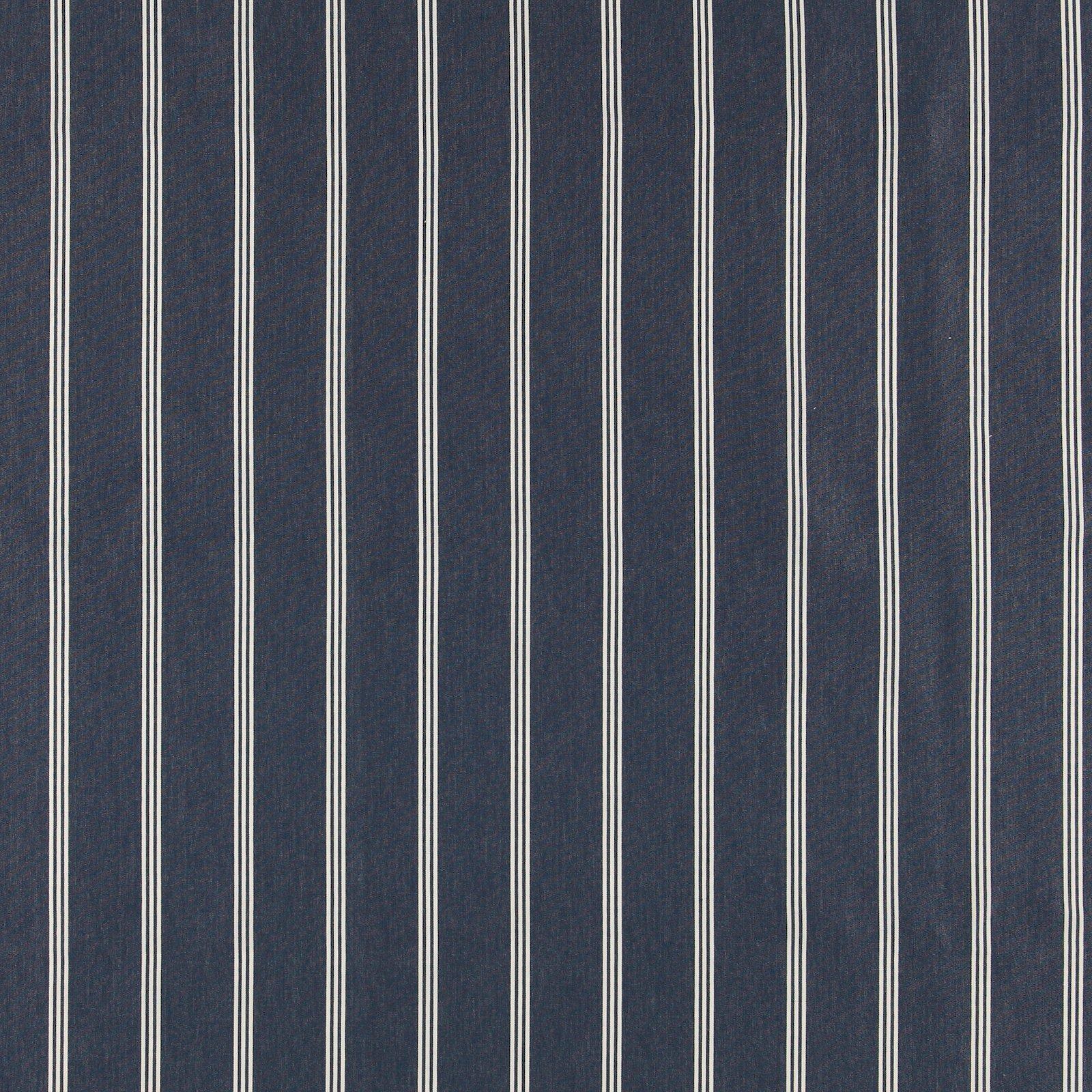 Dralon navy w white stripe Teflon coated 823707_pack_sp