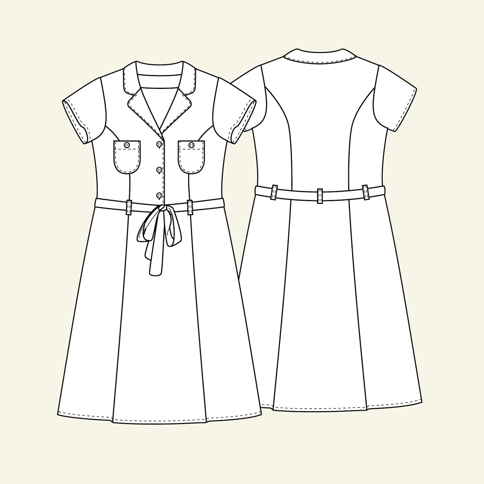 Dress, 36/8 p23075_pack