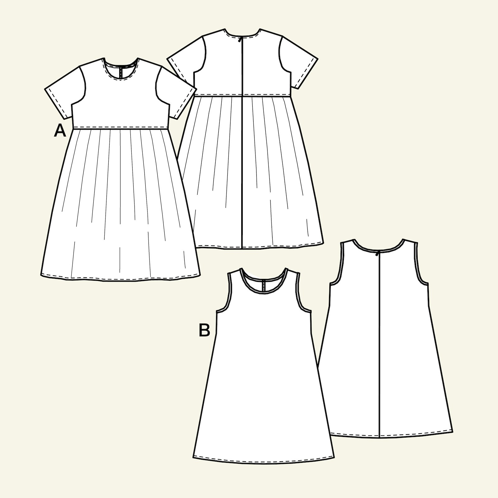 Dress, 98/3y p63059_pack
