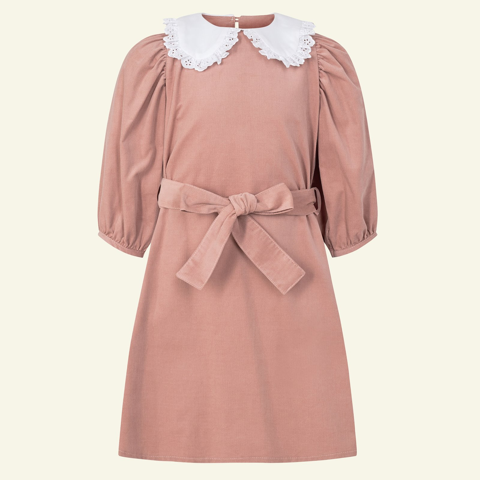 Dress and Blouse with puff sleev, 122/7y p63065_430231_815529_20060_sskit
