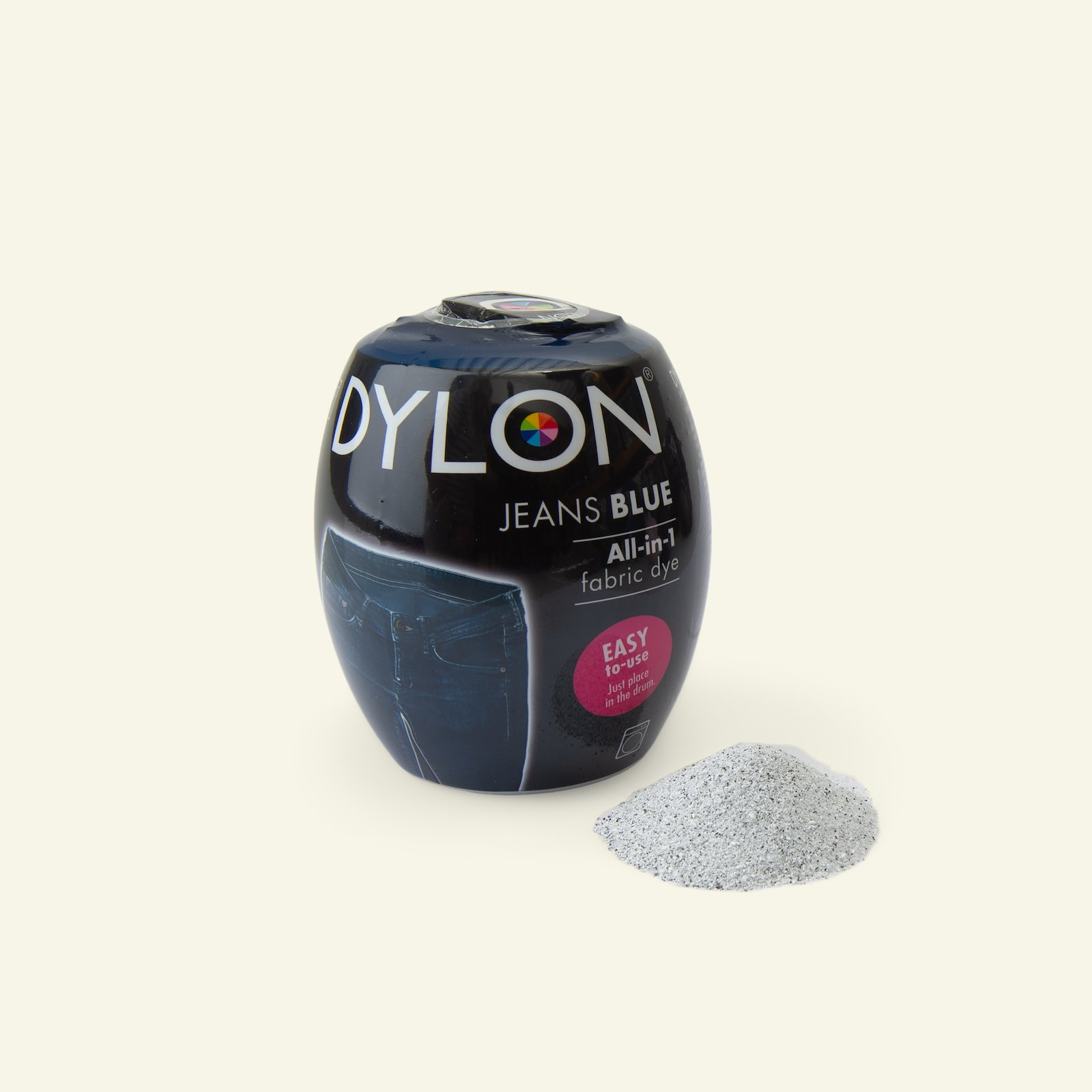 Dylon fabric dye for machine dark blue 29711_pack