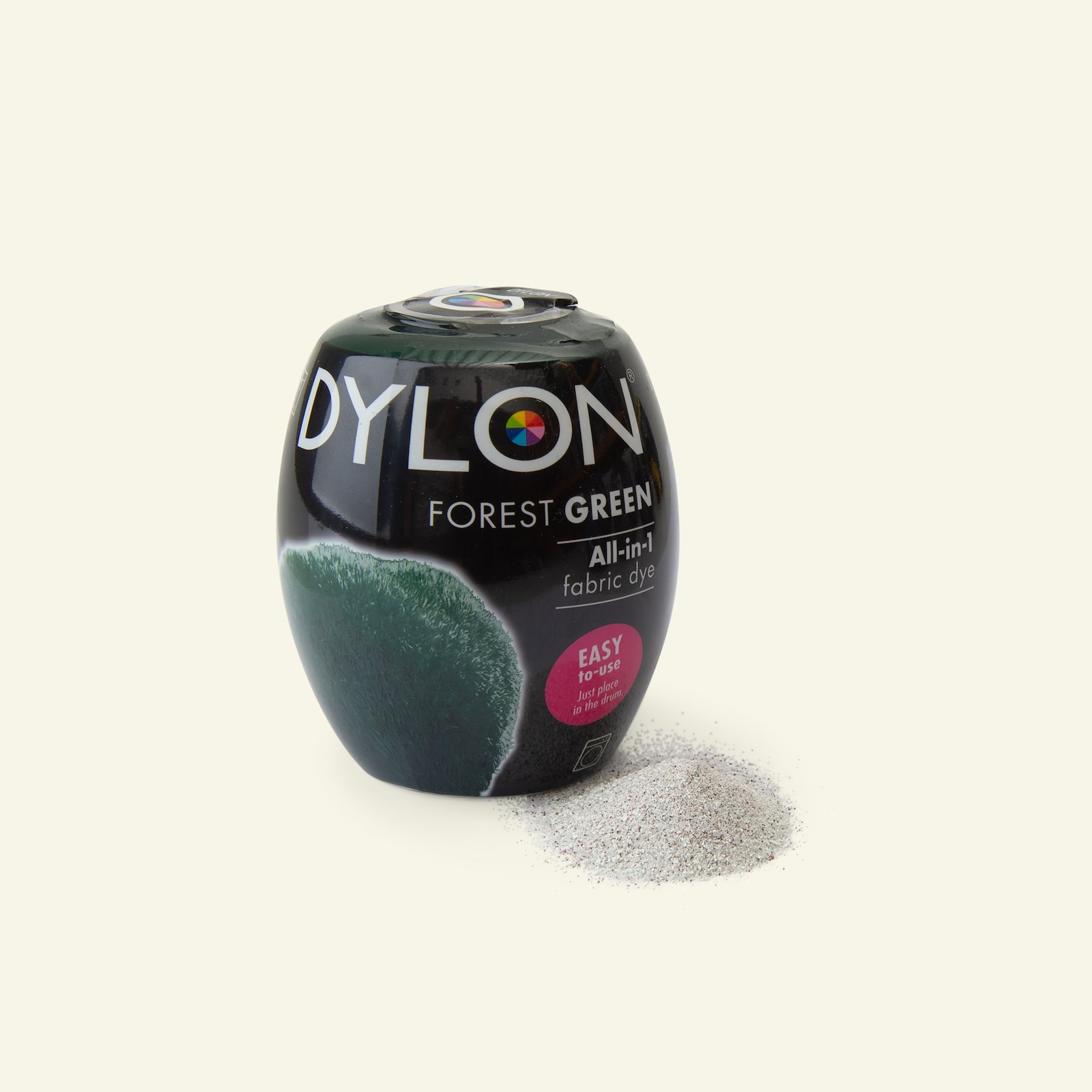 Dylon fabric dye for machine dark green 29704_pack