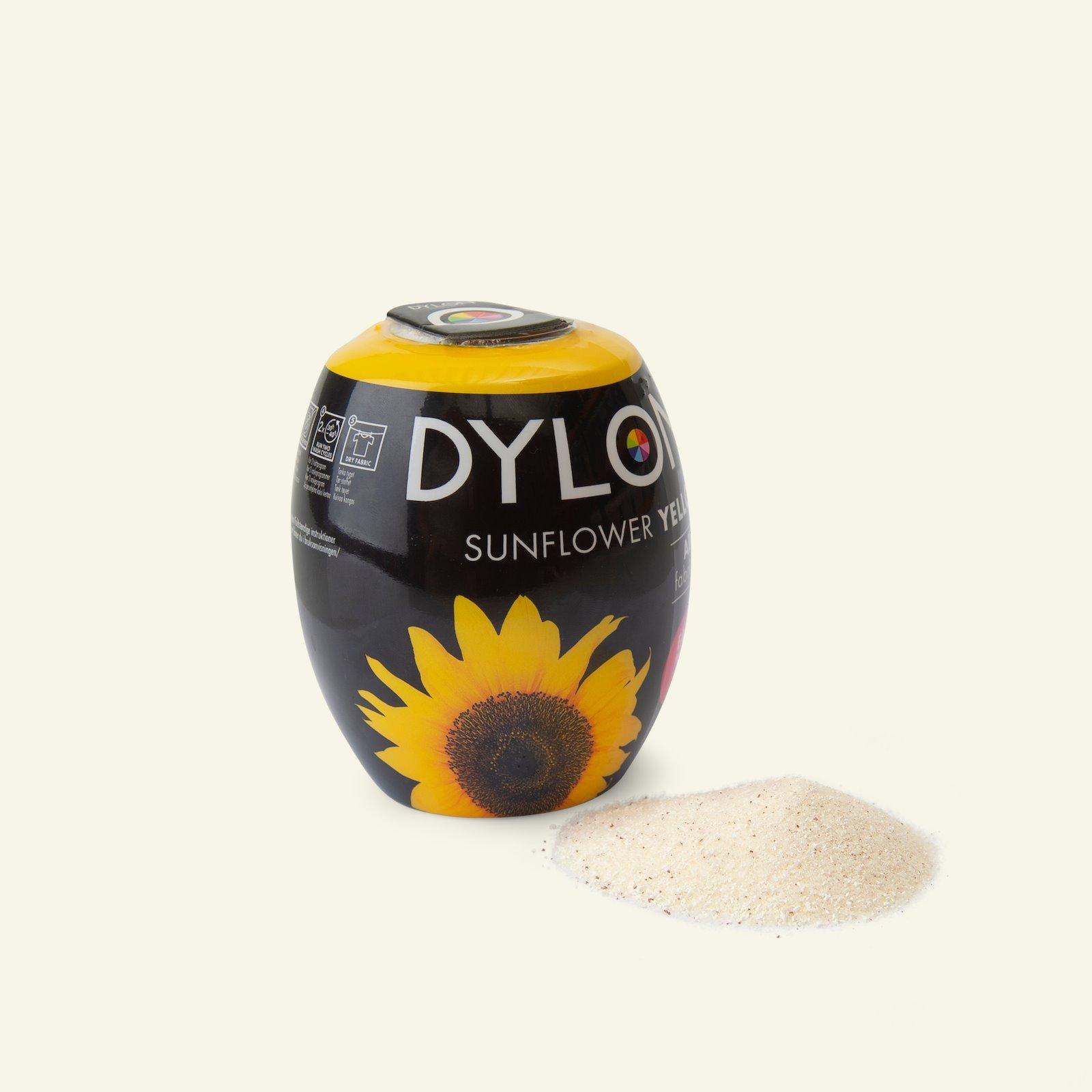 Dylon fabric dye for machine yellow 29701_pack