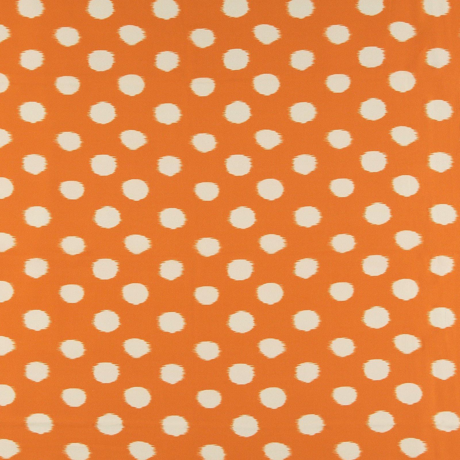 Ecovero woven viscose orange w big dots 710690_pack_sp
