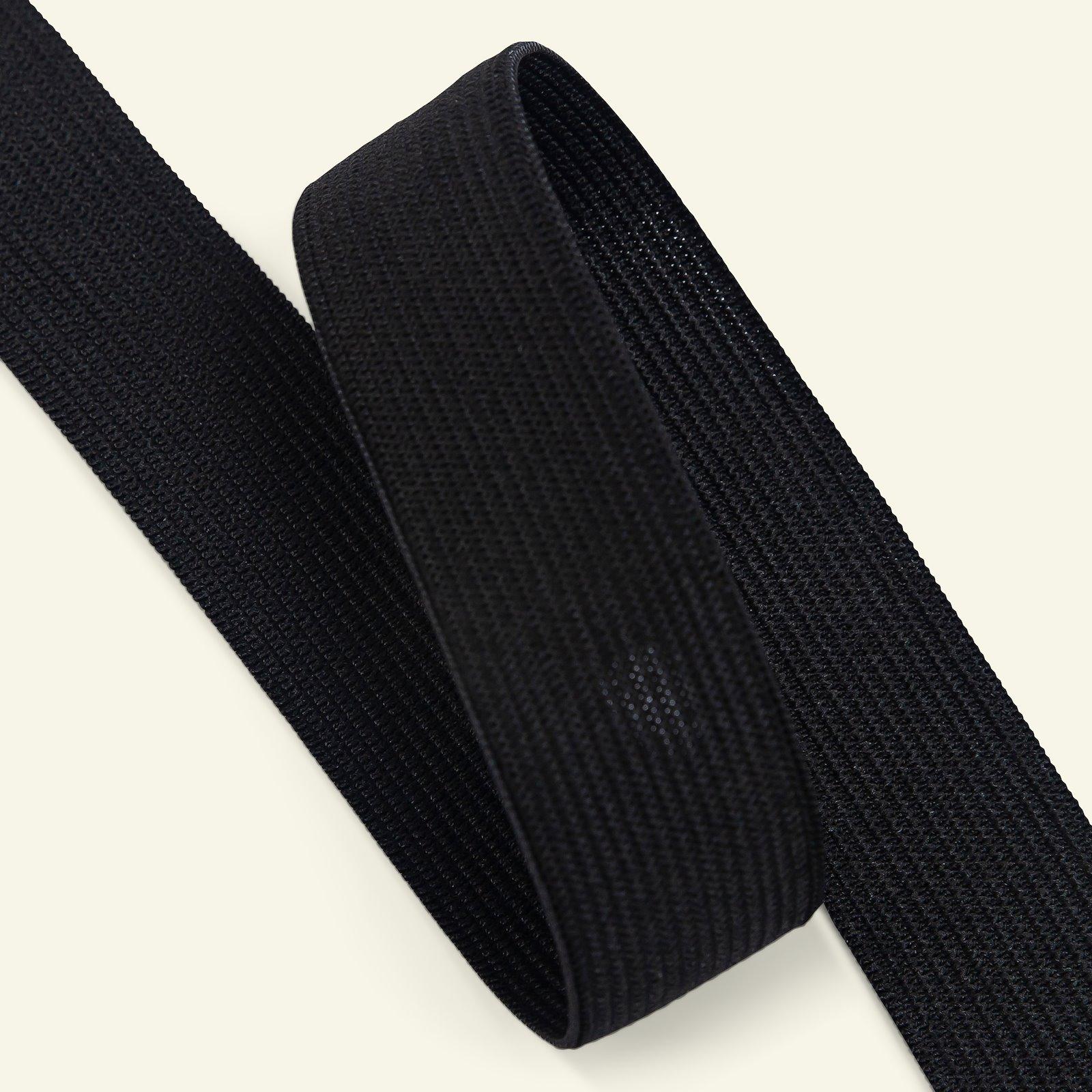 Elastic 25mm black 50m 3513043_pack