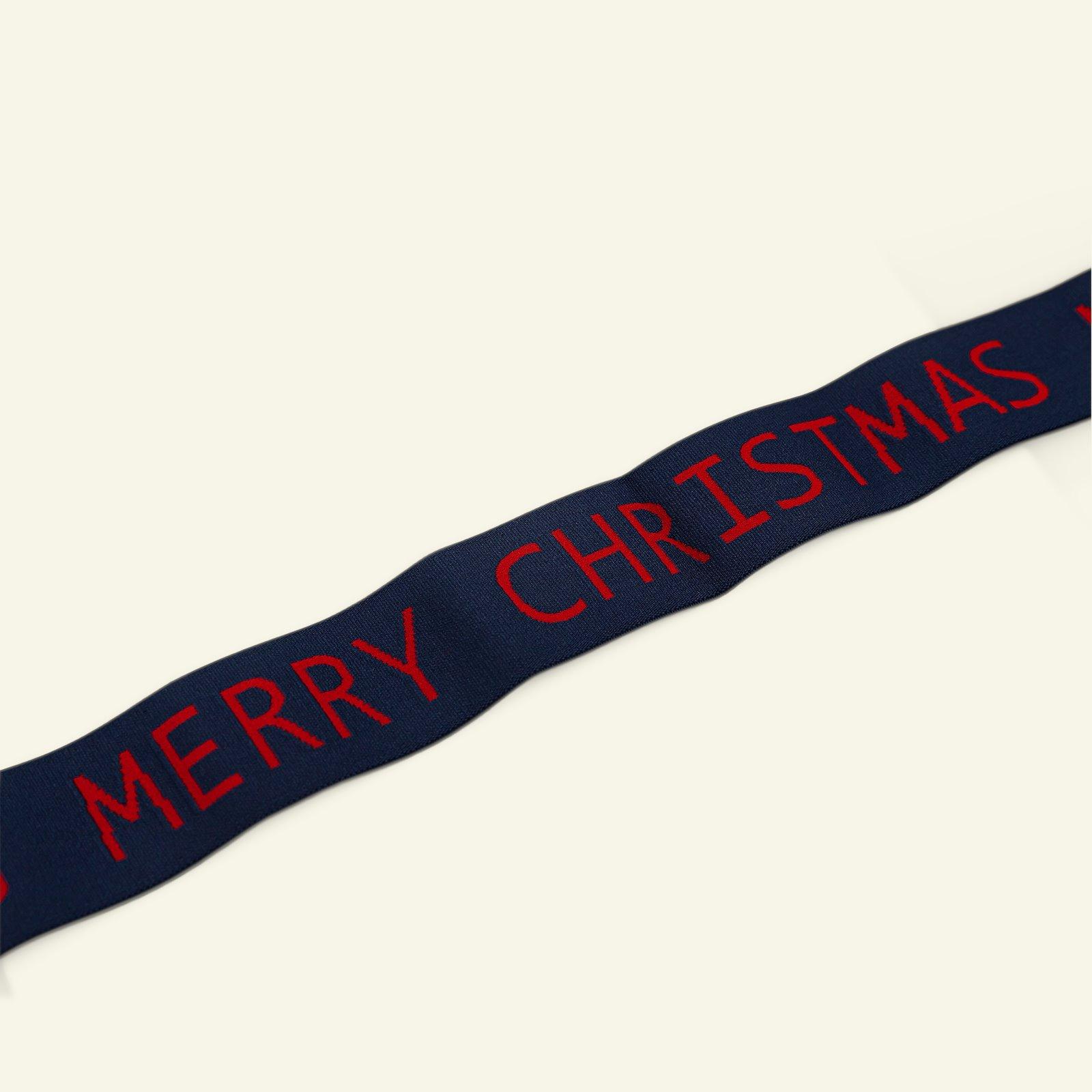 "Elastic 45mm ""MERRY CHRISTMAS"" 2m 3509051_pack_b"