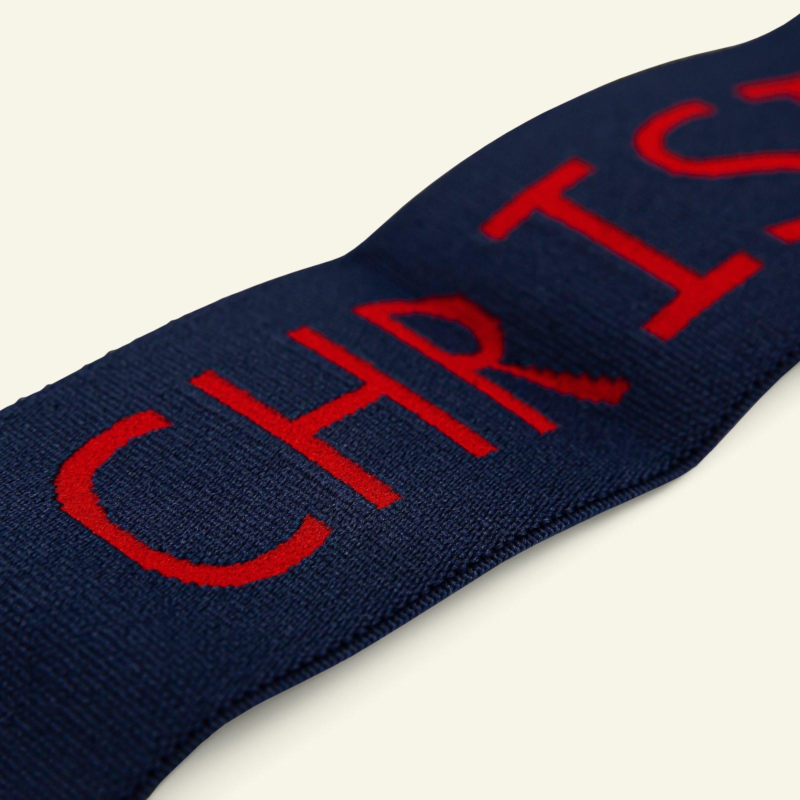 "Elastic 45mm ""MERRY CHRISTMAS"" 2m 3509051_pack_c"