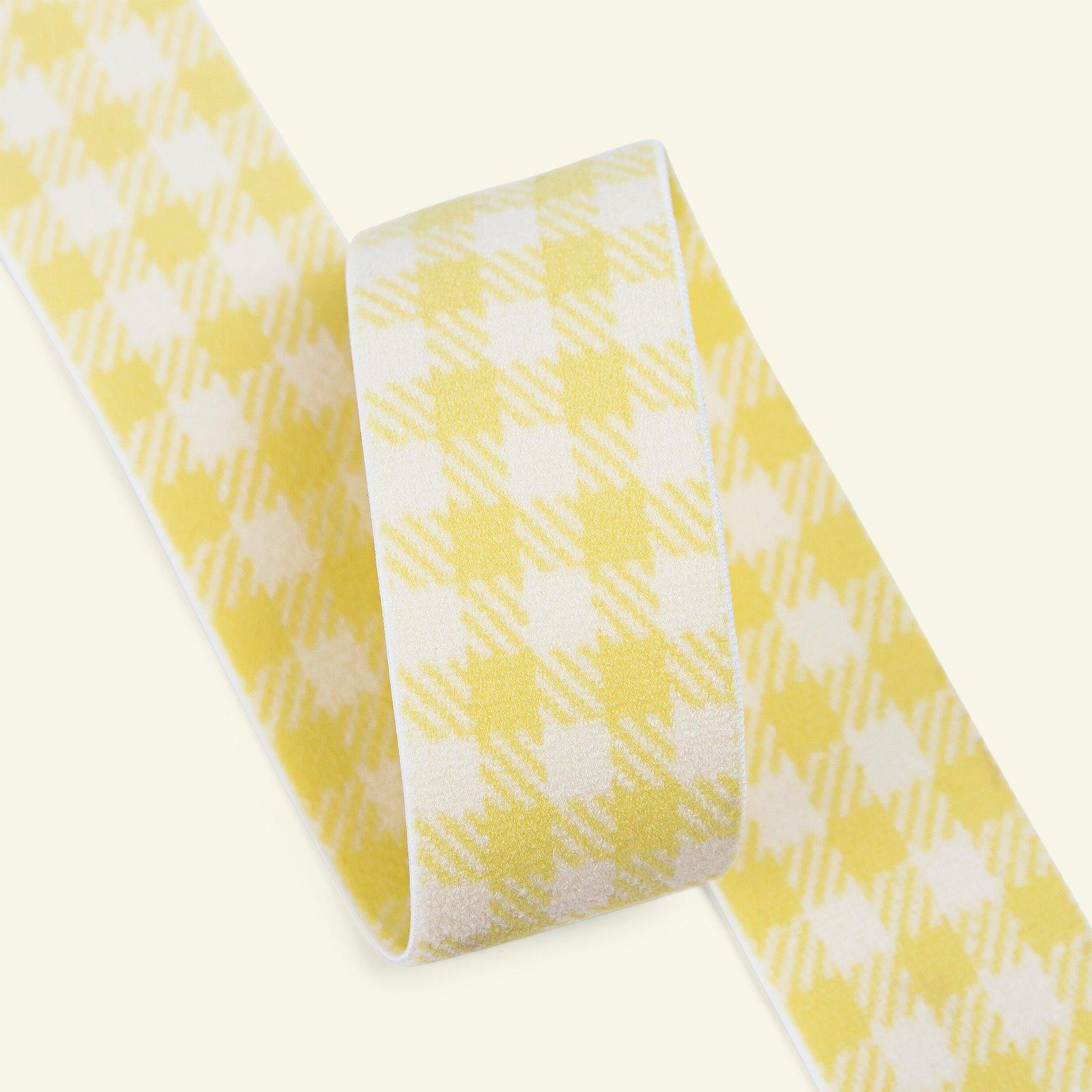 Elastic check 31mm light yellow 2m 3509087_pack