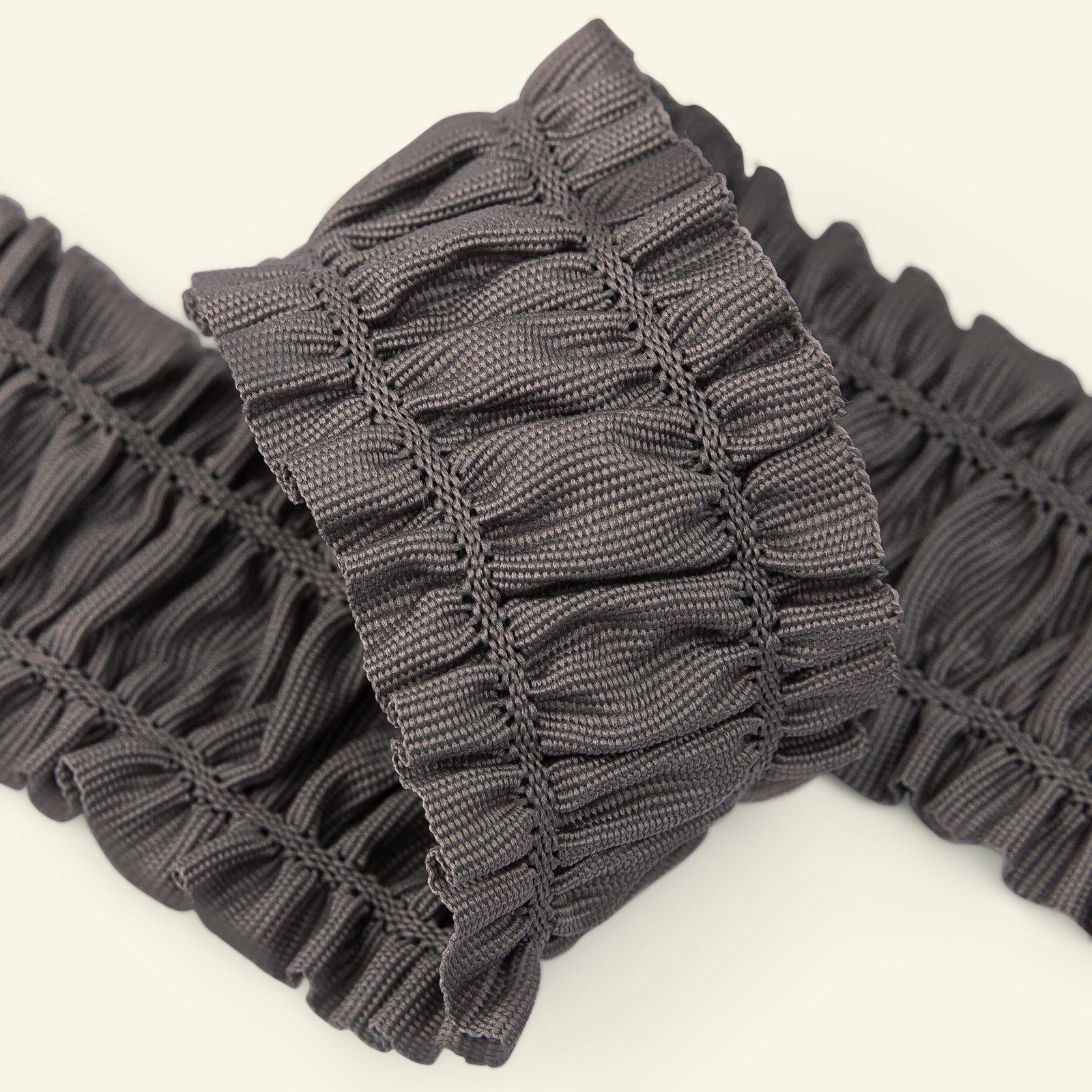 Elastic ribbon 50mm dusty purple 1,5m 22220_pack
