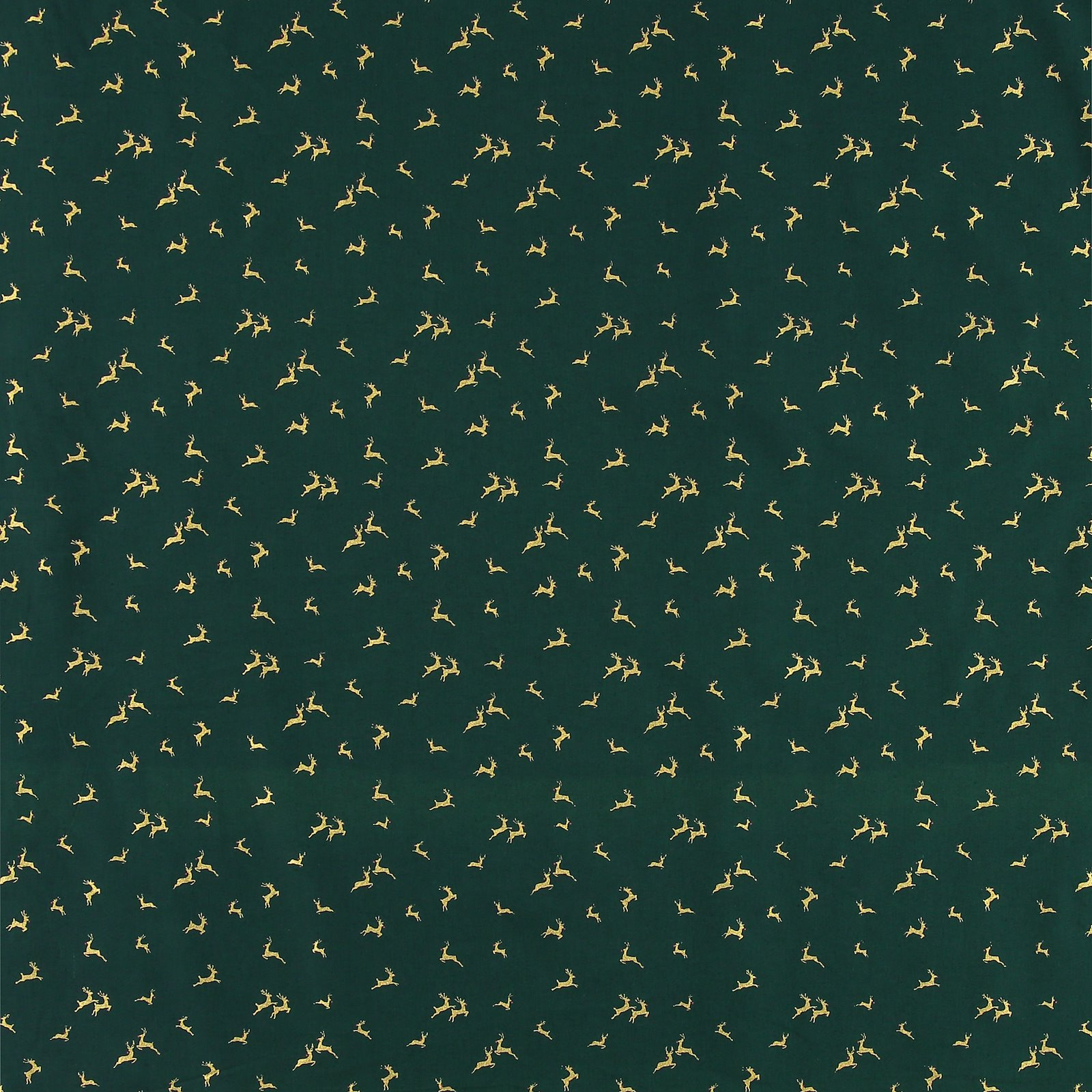 Fat Quarter 45x55cm, Grün mit Rentier 92431_pack_sp