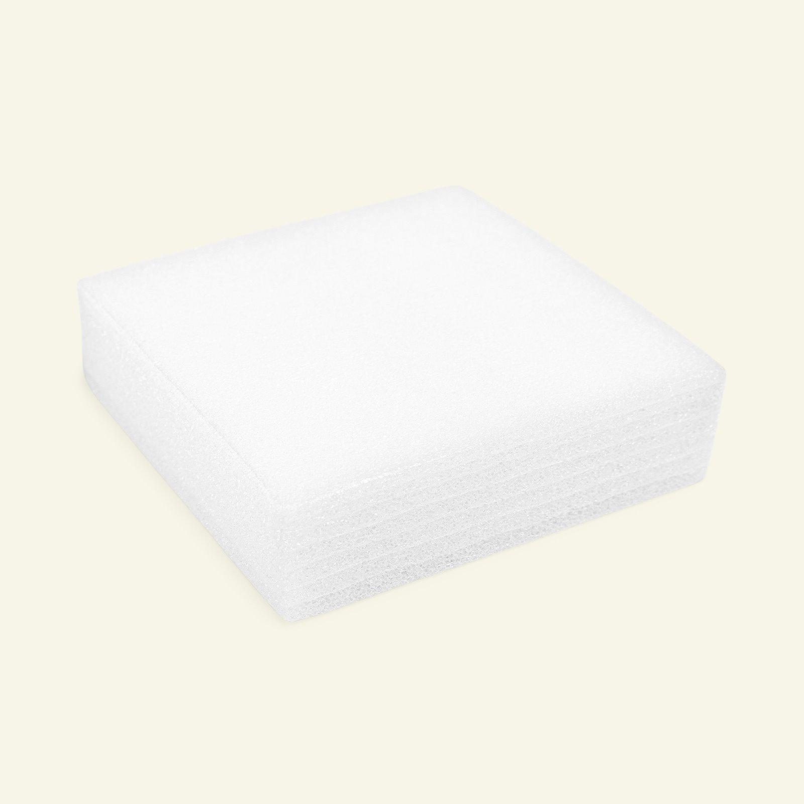 Felting cushion 18x18x5cm white 1 pcs 37000_pack