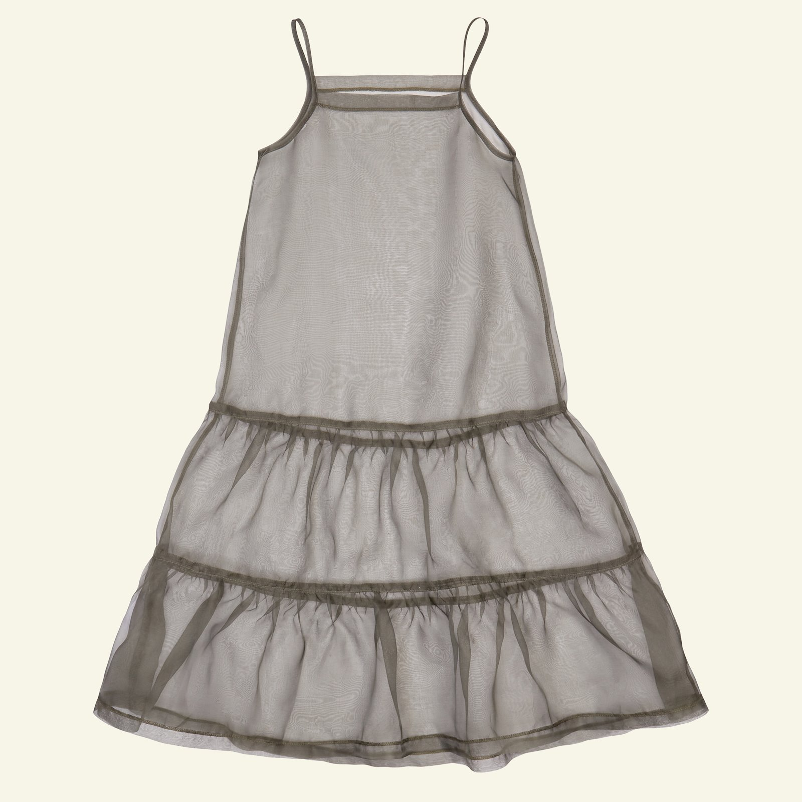 Flounce dress, 134/9y p63062_530439_sskit