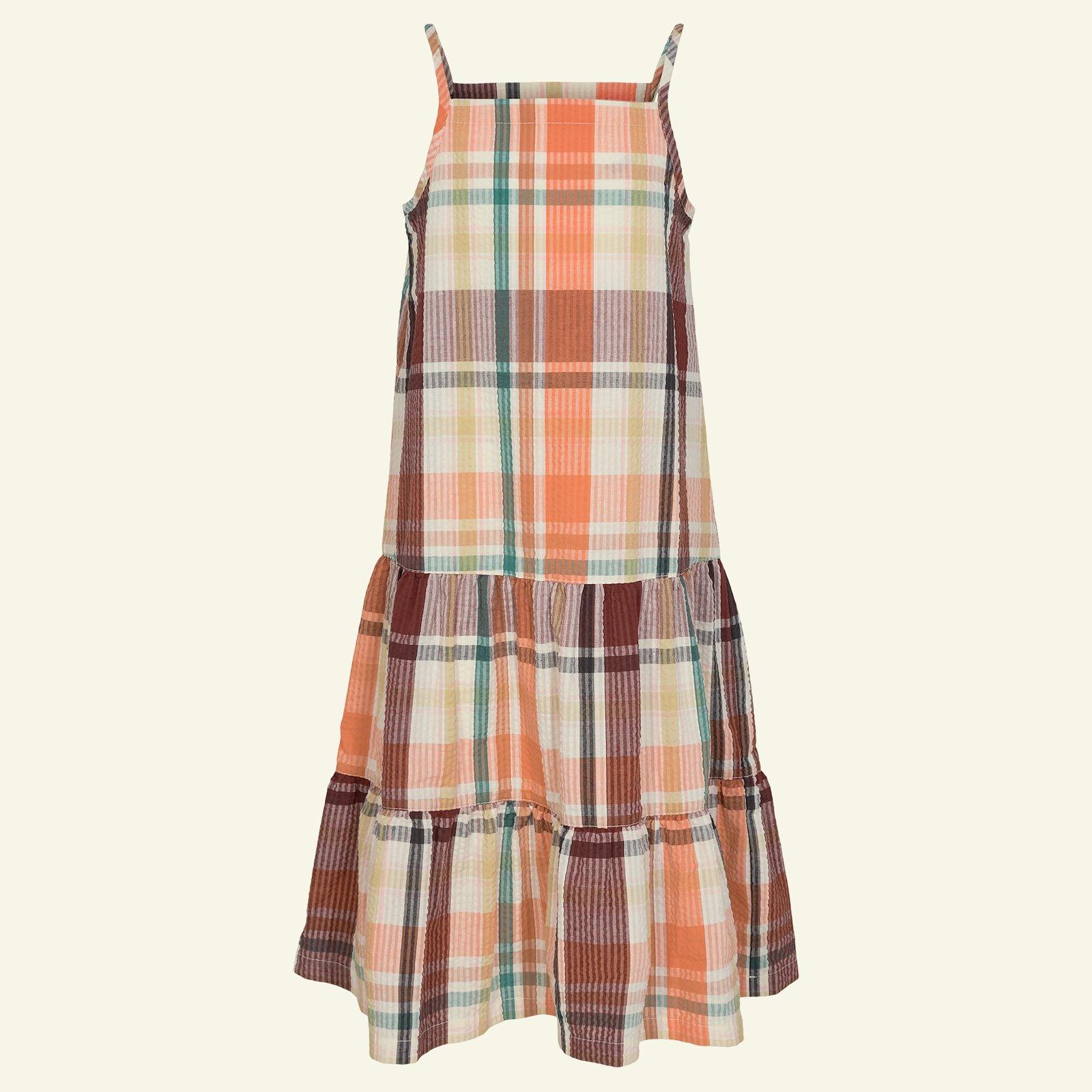 Flounce dress, 134/9y p63062_580049_sskit