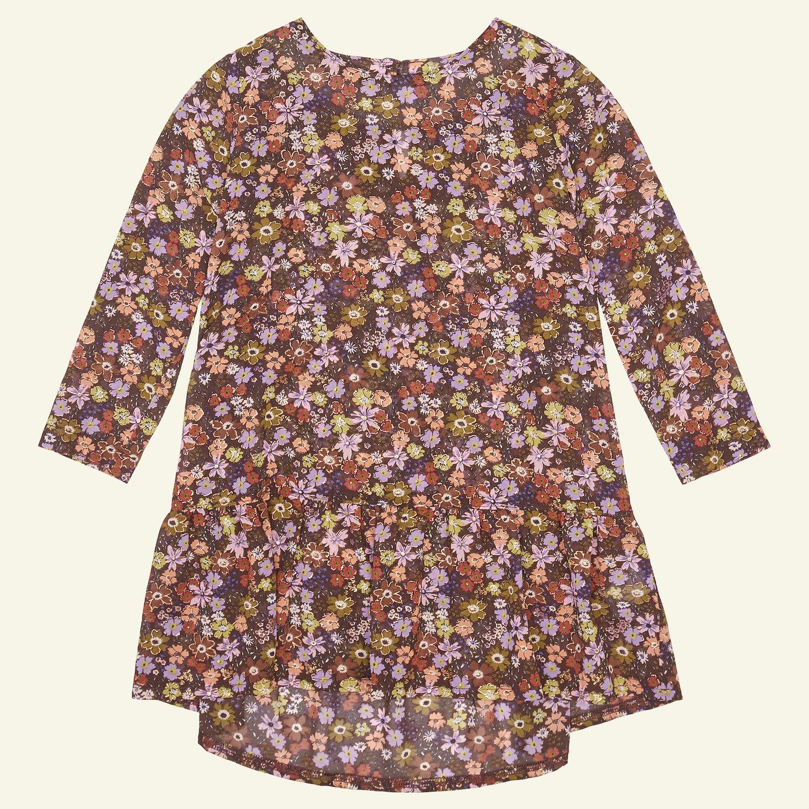 Flounce dress, 134/9y p63062_631244_sskit