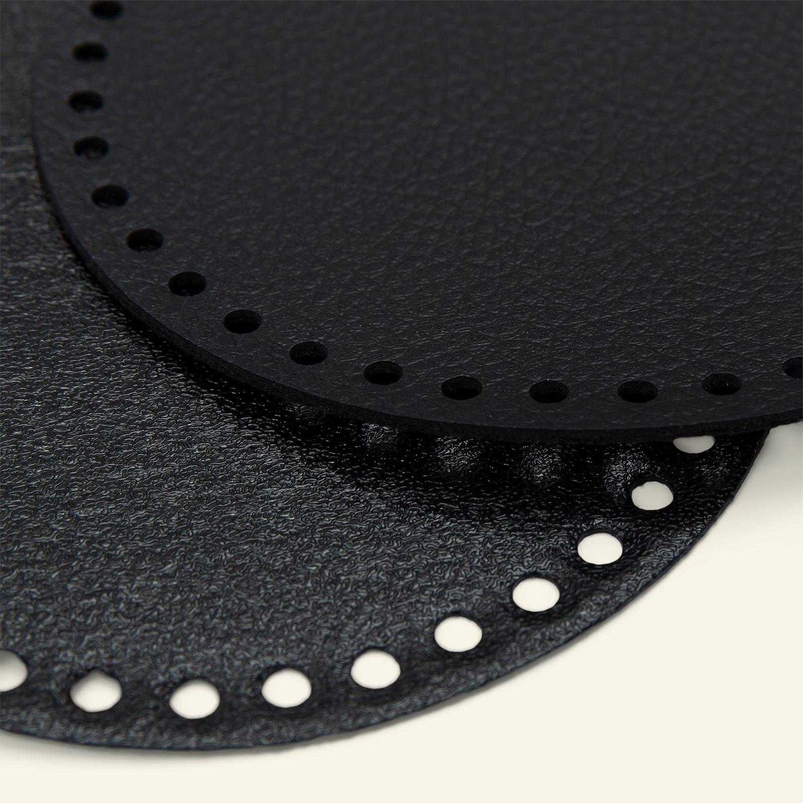 FRAYA bag/basket bottom 16cm black 1pc 83309_pack_b