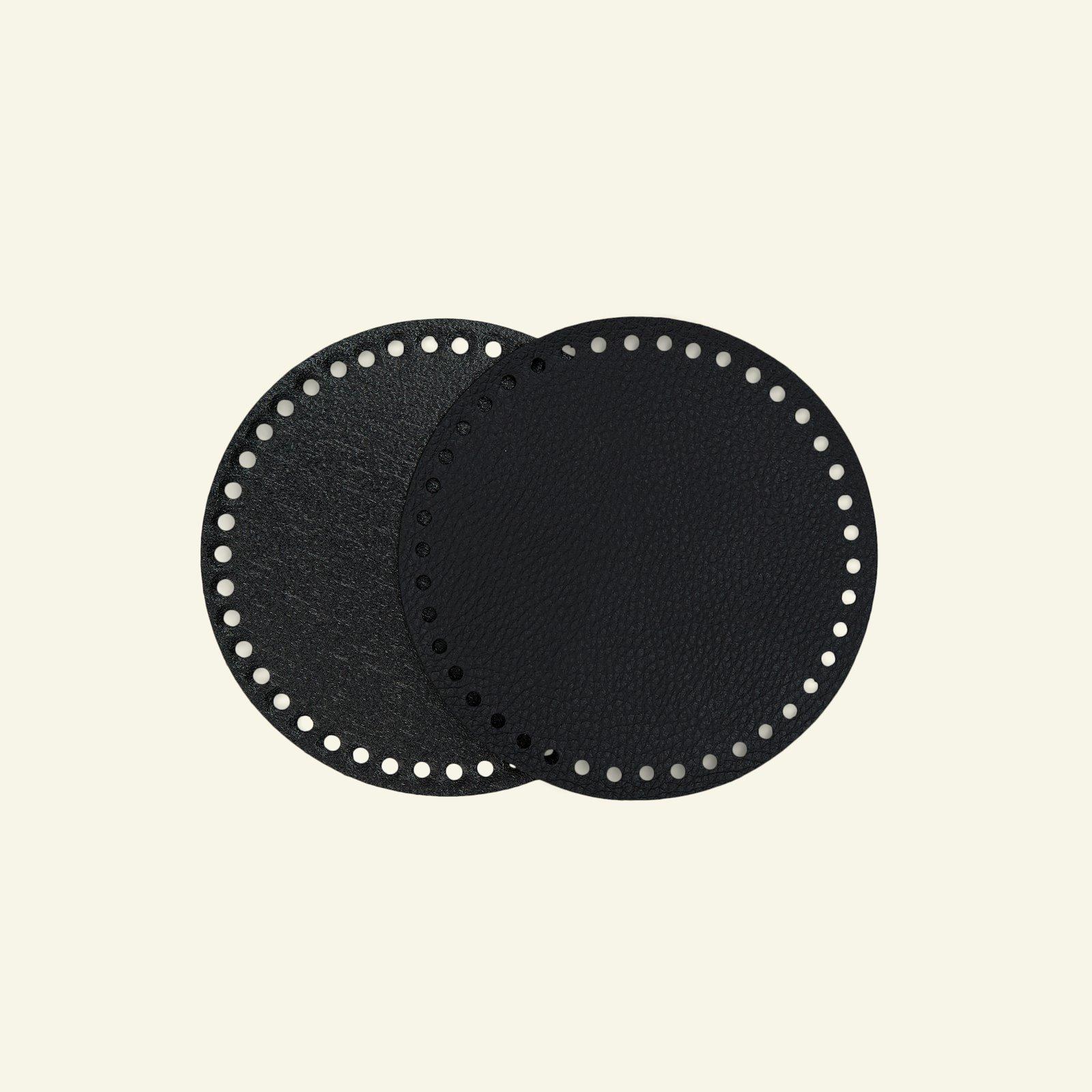 FRAYA bag/basket bottom 16cm black 1pc 83309_pack