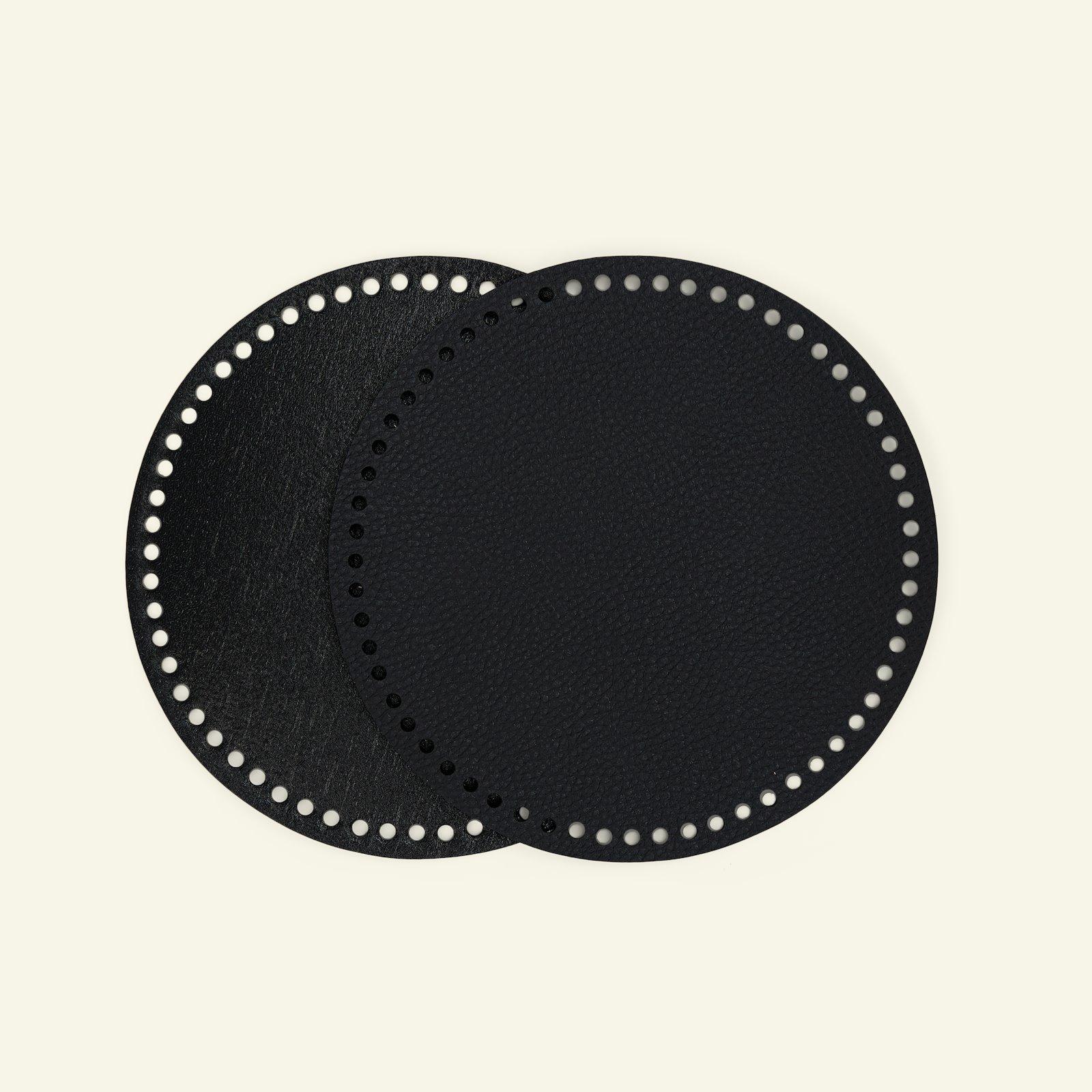 FRAYA bag/basket bottom 20cm black 1pc 83311_pack