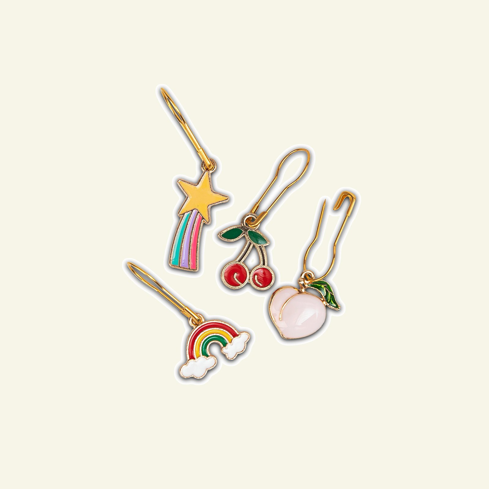 "FRAYA Stitch markers ""Rainbow"" 4pcs 83302_pack"