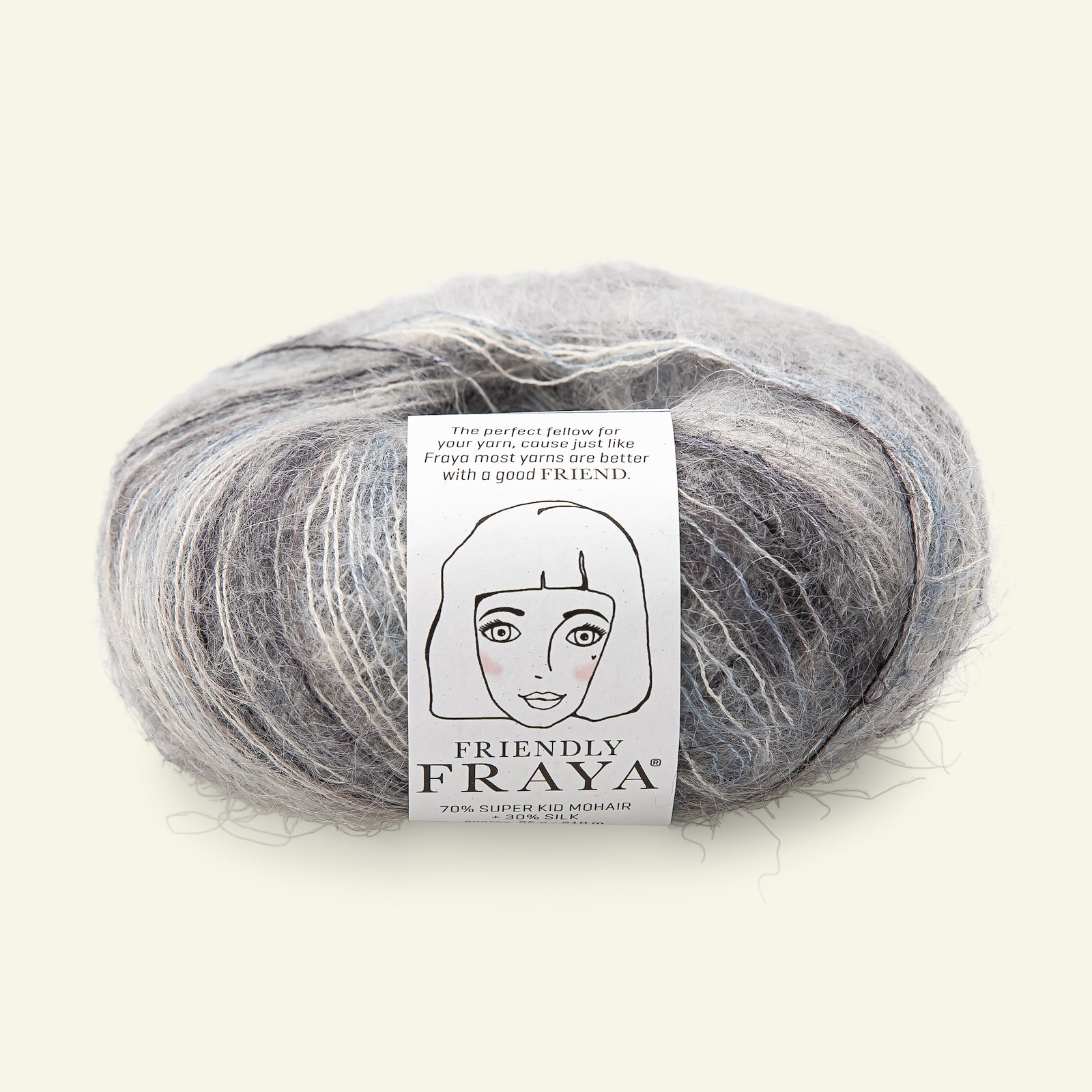 Friendly 25g, grey mix 90000101_pack