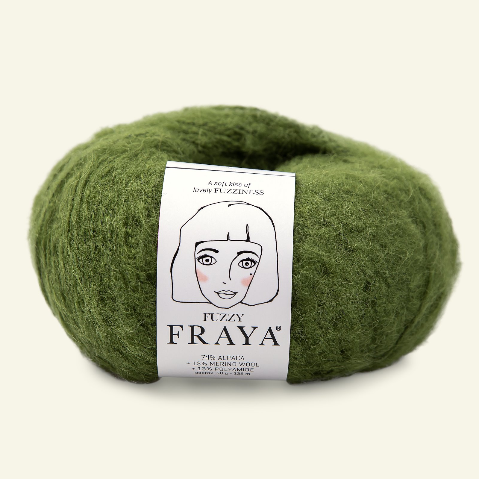 Fuzzy 50g bright green 90000011_pack