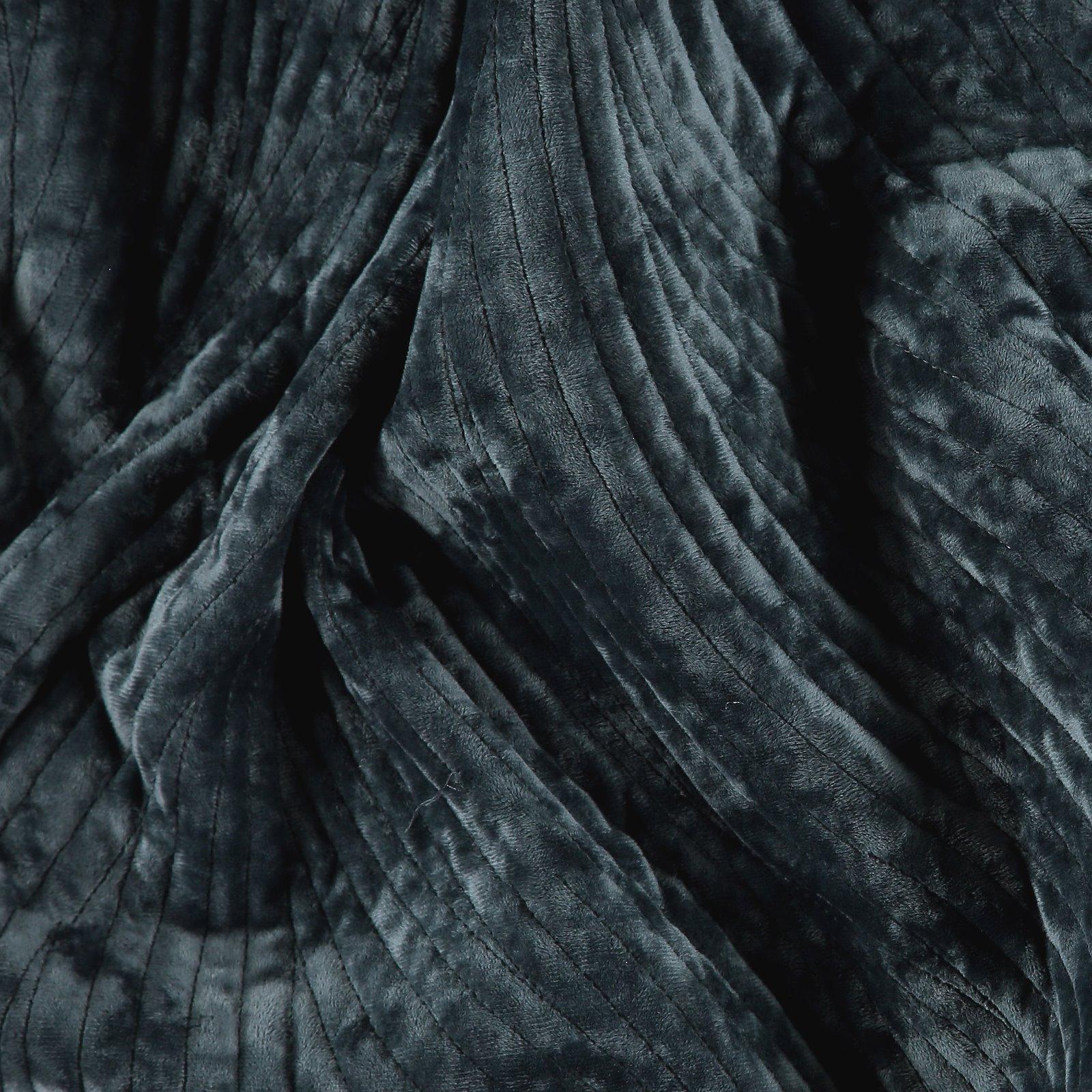 Gequilteter Samt, Blaugrau abstr. Muster 920216_pack