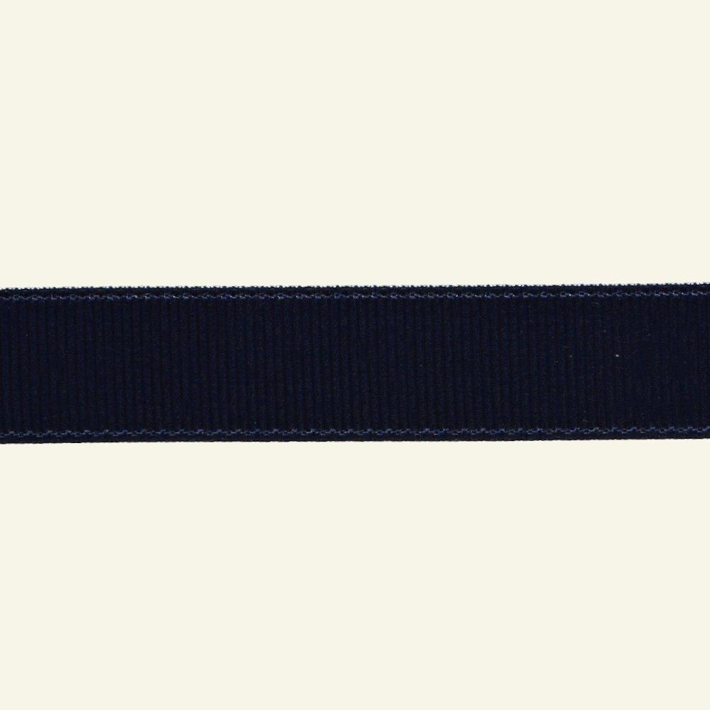Gros grain ribbon 15mm navy 5m 73106_pack