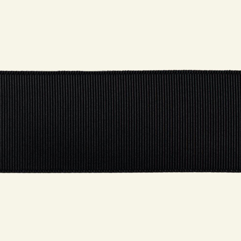 Gros grain ribbon 38mm black 5m 73115_pack