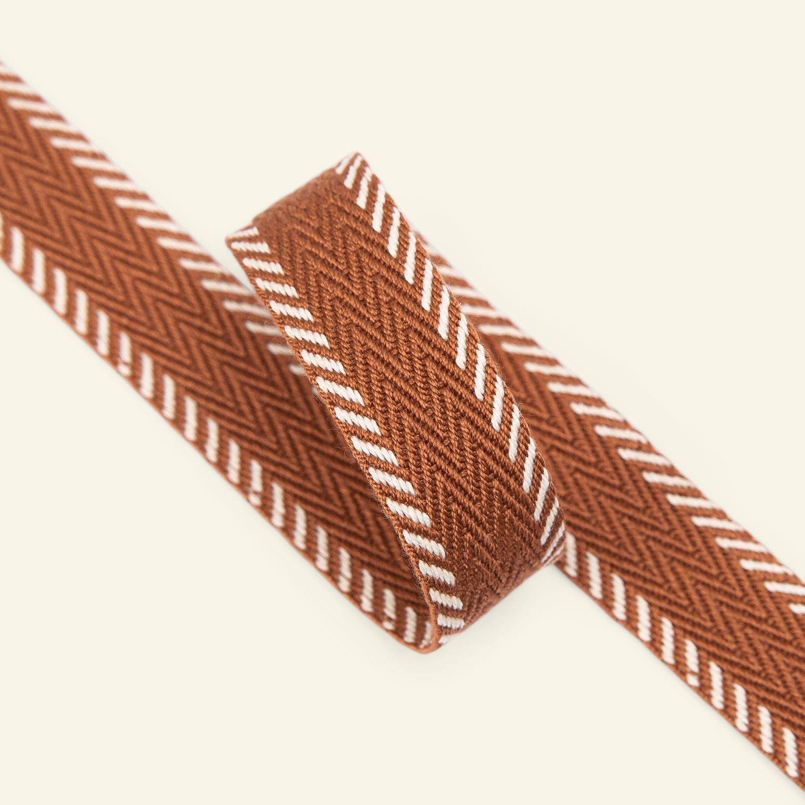 Gurtband 20mm Braun, 2m 22223_pack