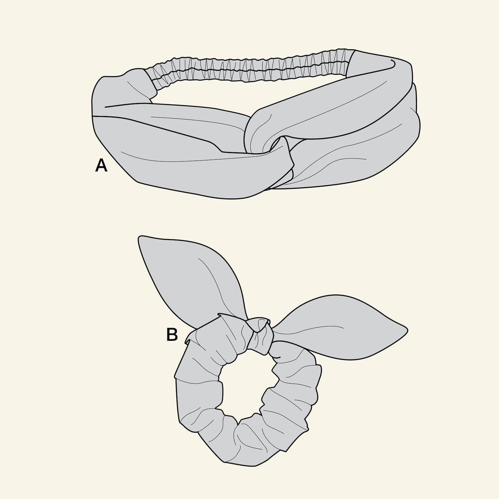 Hairband and elastic p90302_pack