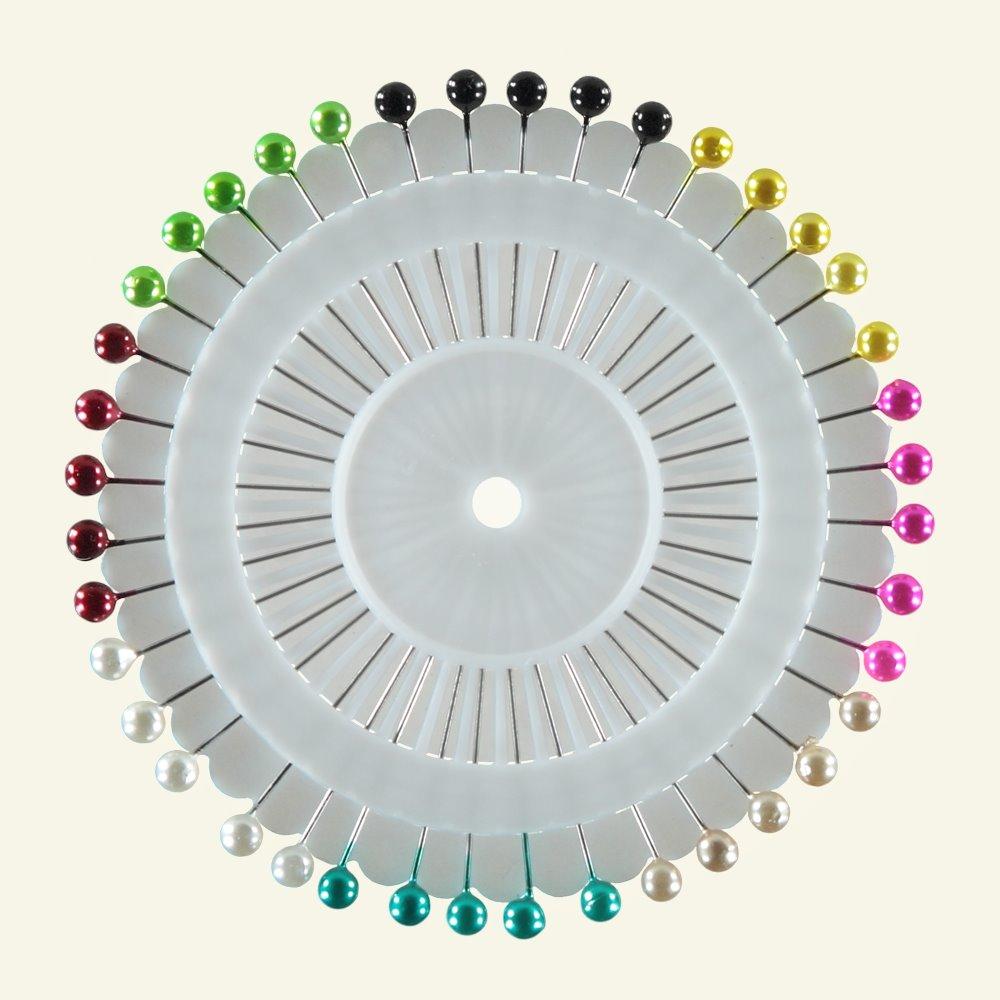 Head pins on wheels 38mm x 0,6mm 40 pcs. 46600_pack