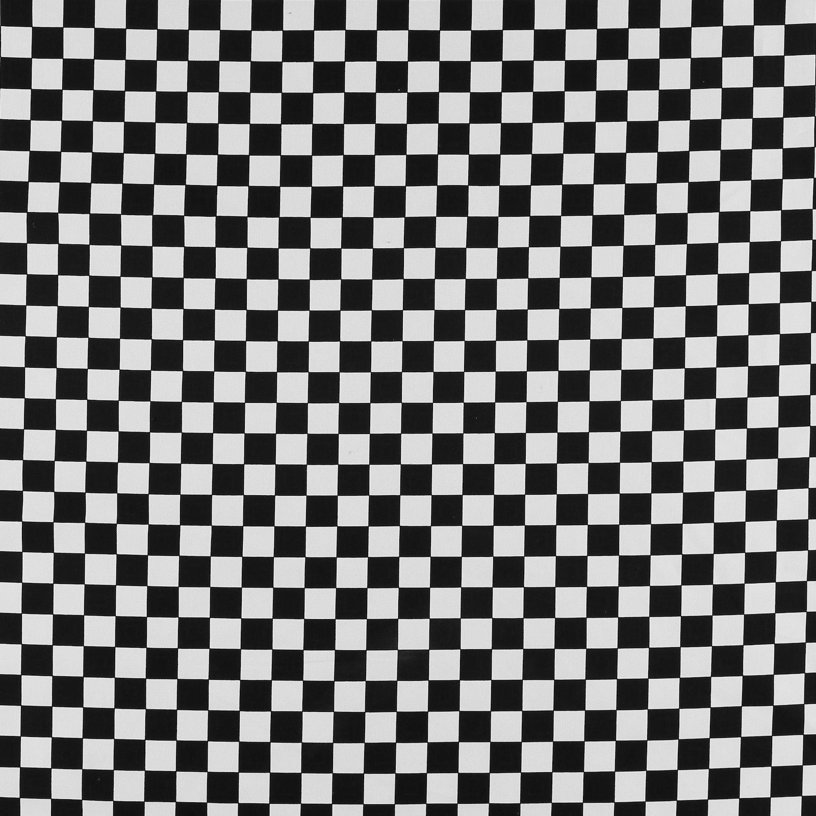 Heavy canvas black/white check 780573_pack_sp