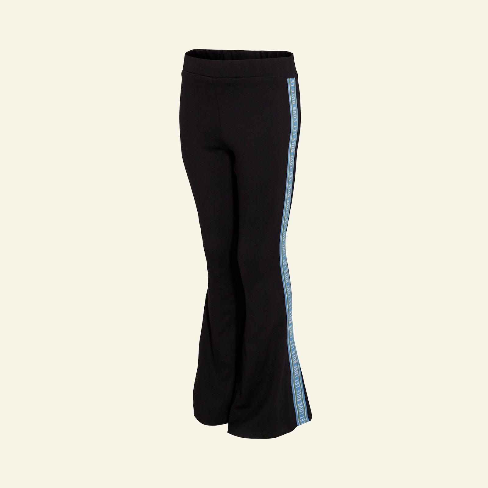 High waist trompet trouser, 122/7y p60038_272675_82408_sskit