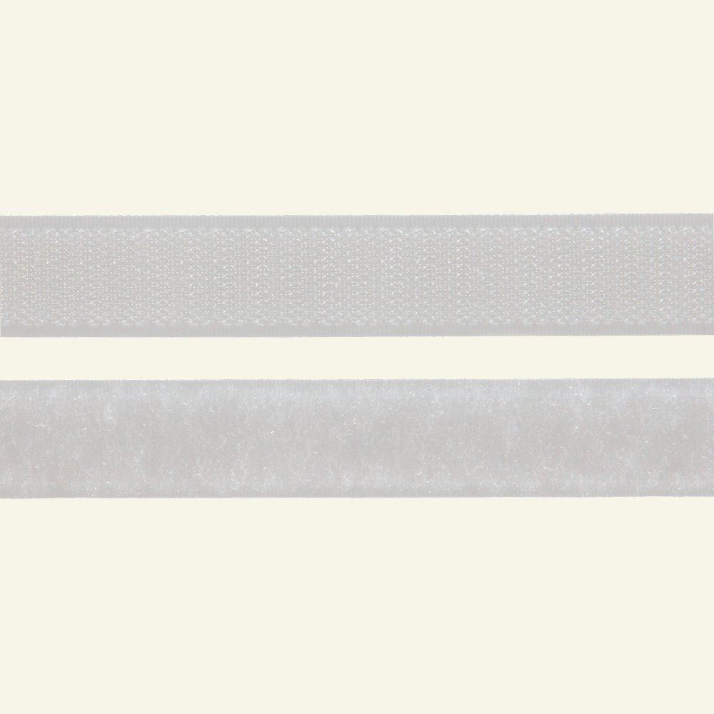 Hook and Loop tape 20mm white 50cm 30001_pack