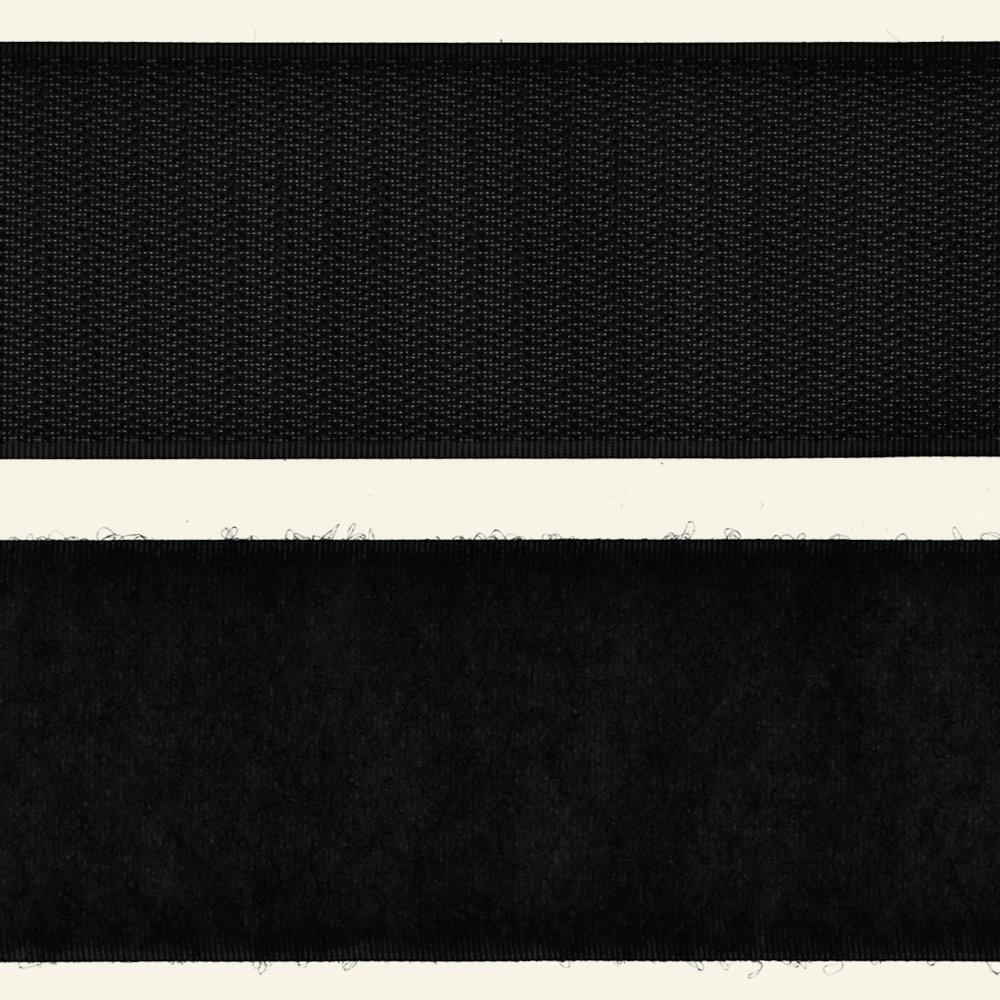 Hook and Loop tape 50mm black 50cm 30543_pack