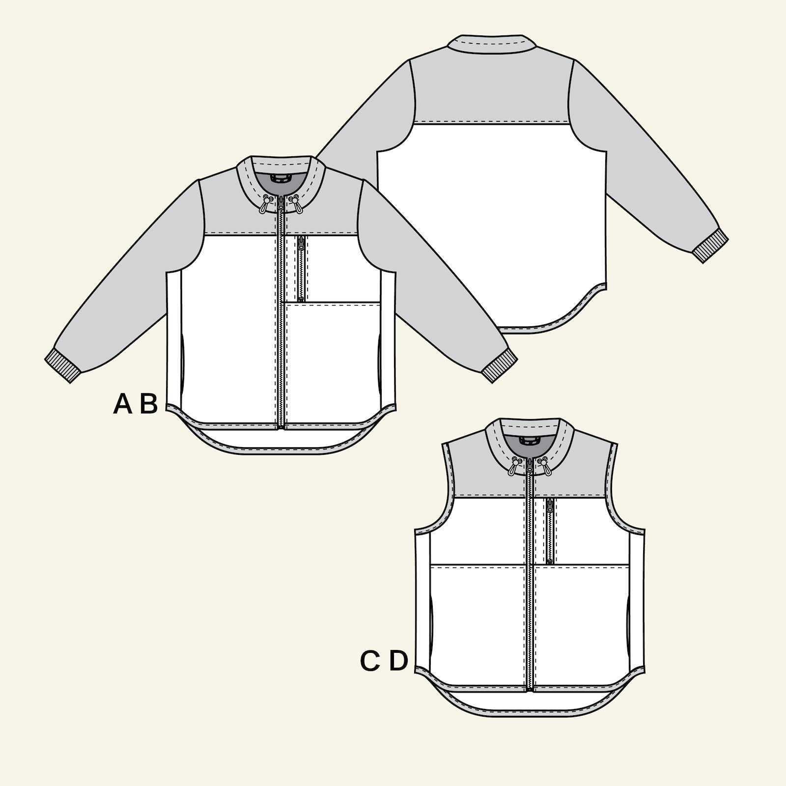 Jacket and waistcoat, 40/12 p24049_pack