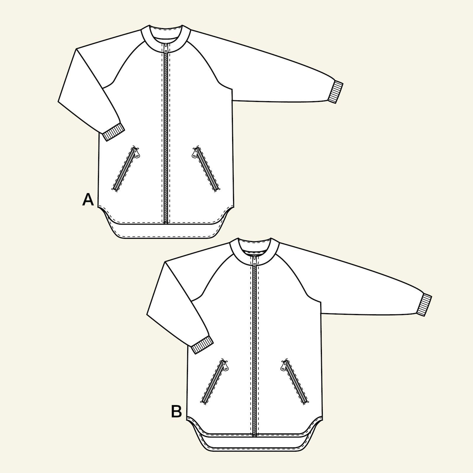 Jacket with raglan sleeves, 122/7y p64019_pack