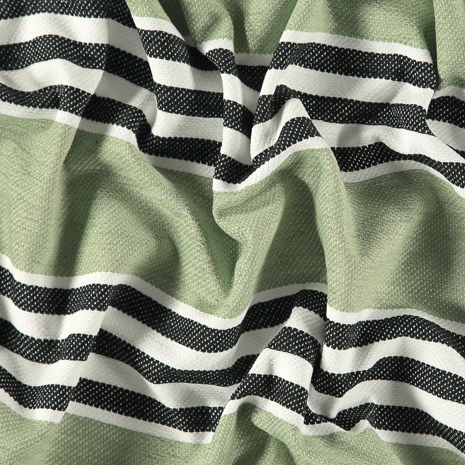 Jacquard black/green stripe 824058_pack