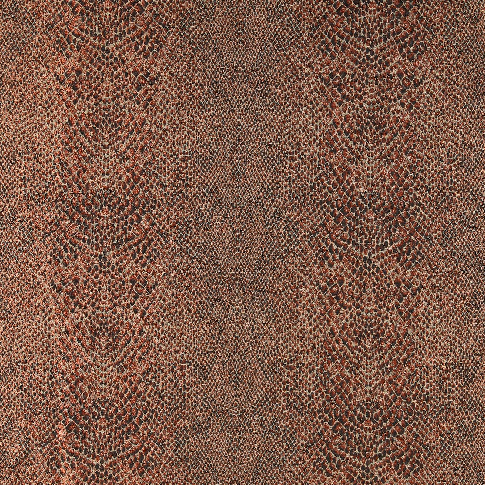 Jacquard sand w terracotta snake pattern 803709_pack_sp