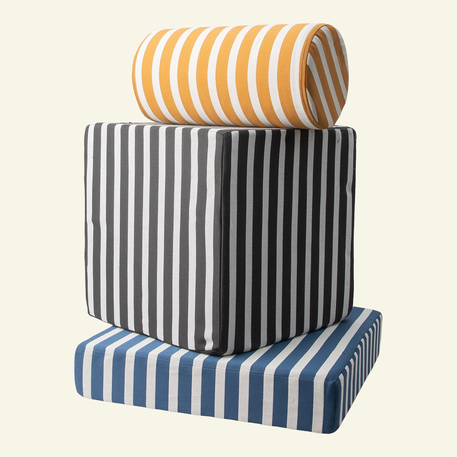 Jacquard yarn dyed petrol/sand stripe 824064_p1000000674_824065_824066_sskit