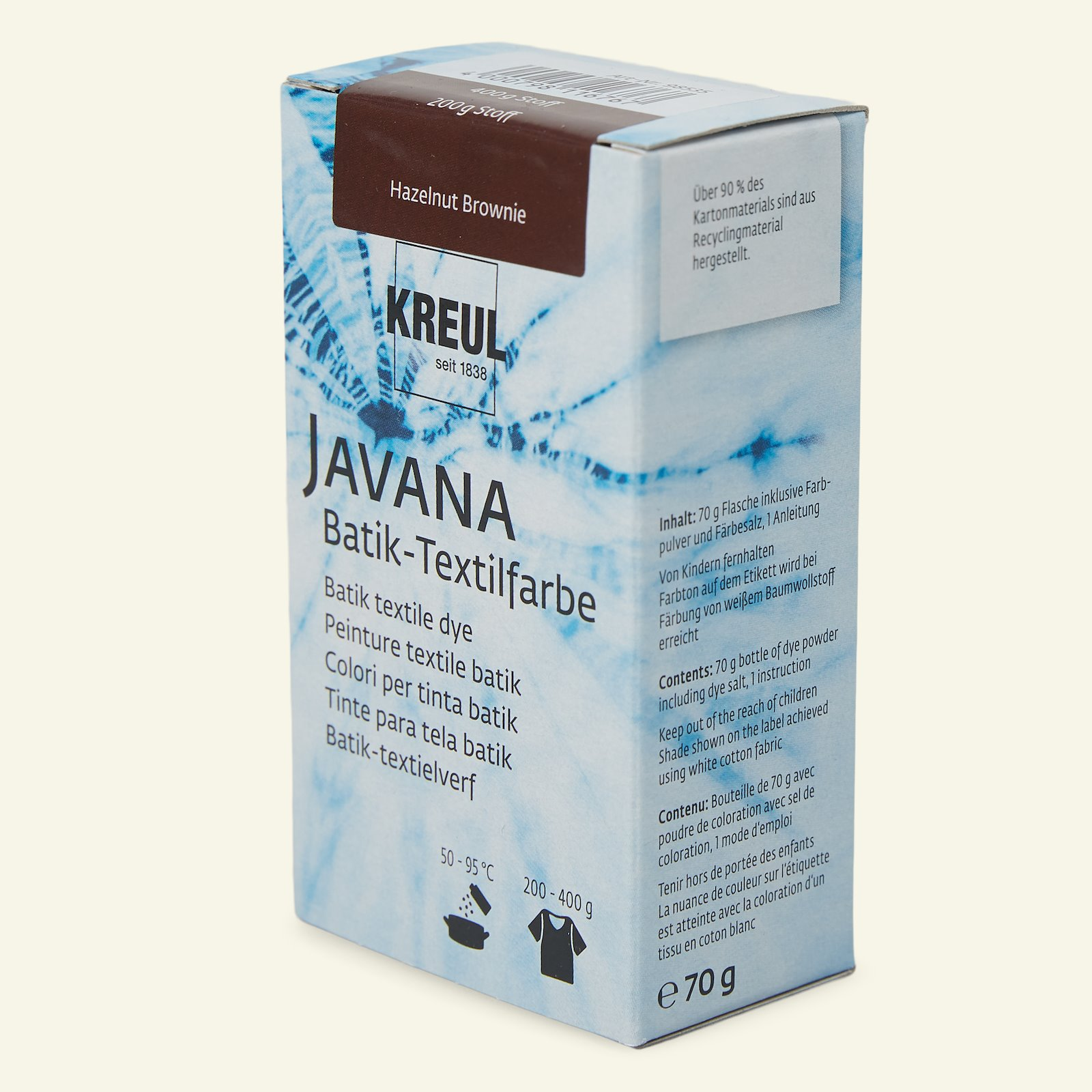 Javana Batikfarbe, Braun, 70g 29673_pack_b