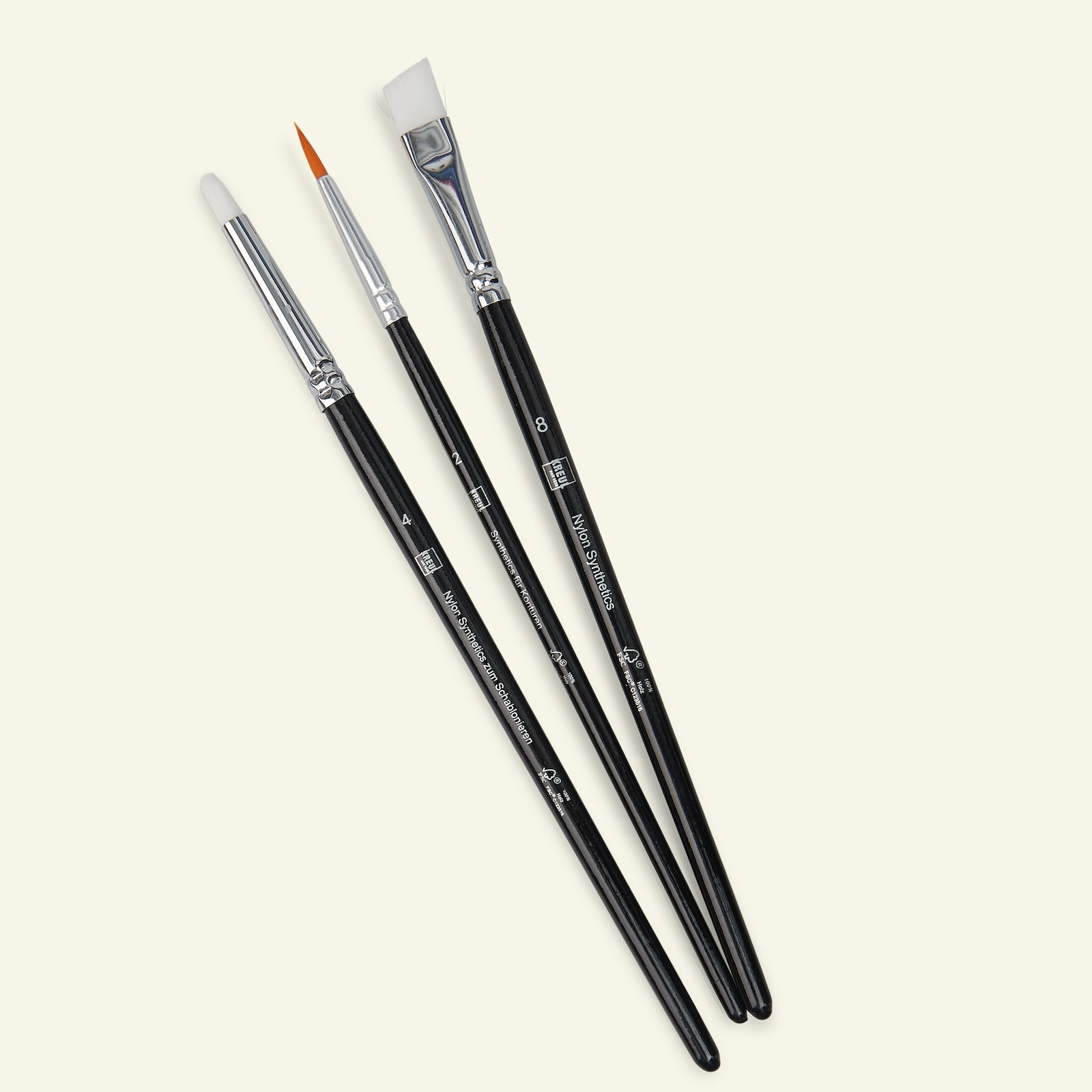 Javana brushes for coarse textiles 3pcs 29186_pack_b