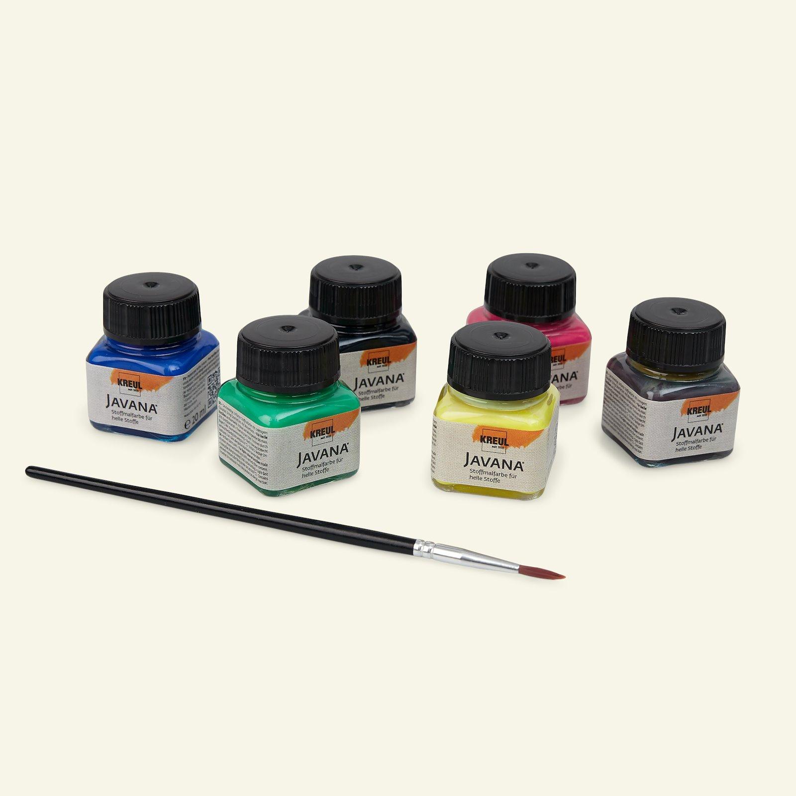 Javana fabric paints base col. 6x20ml 29551_pack_b