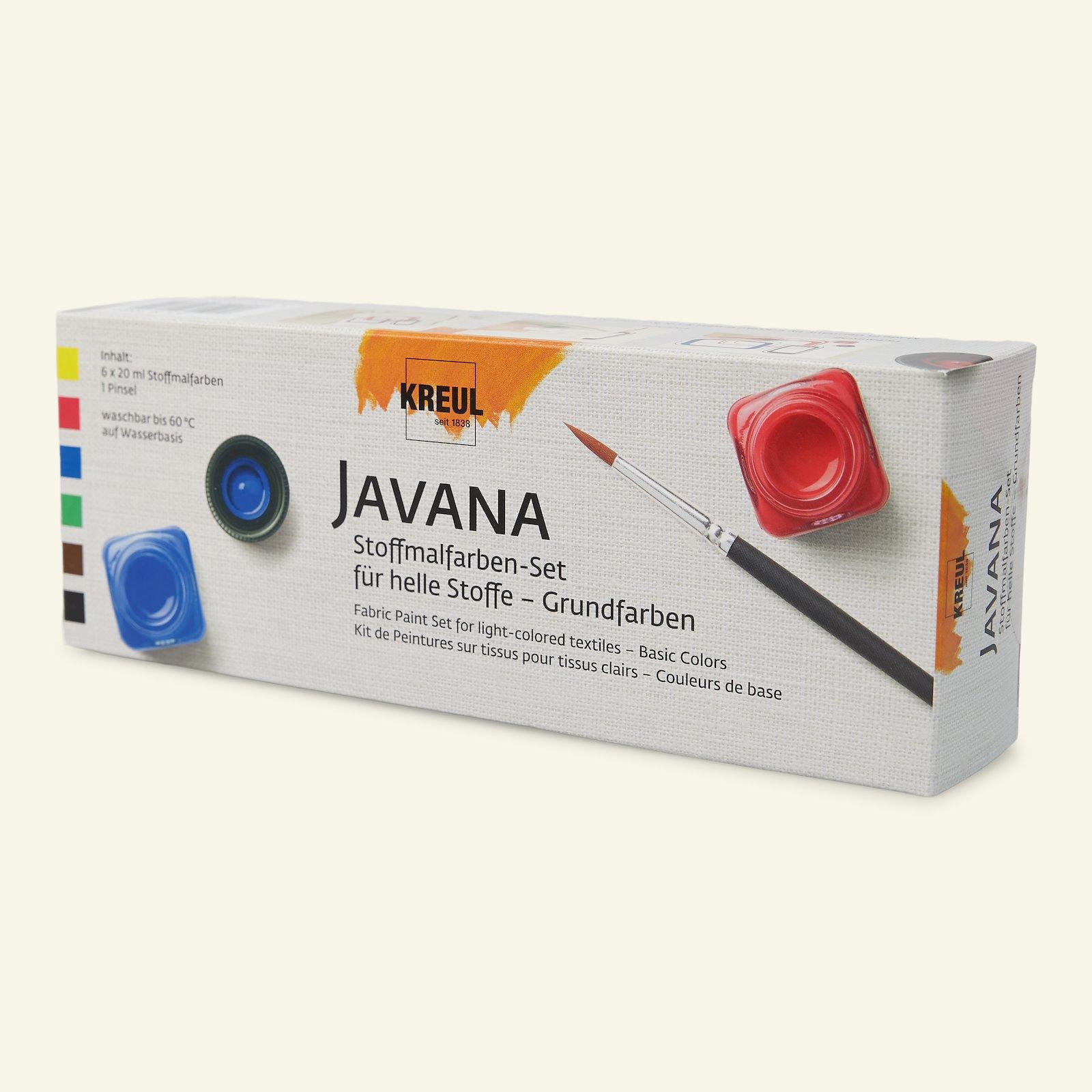 Javana fabric paints base col. 6x20ml 29551_pack_c