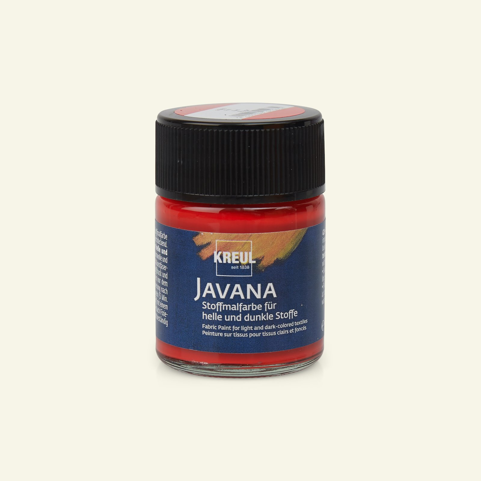 Javana opaque fabric paint red 50ml 29575_pack_b