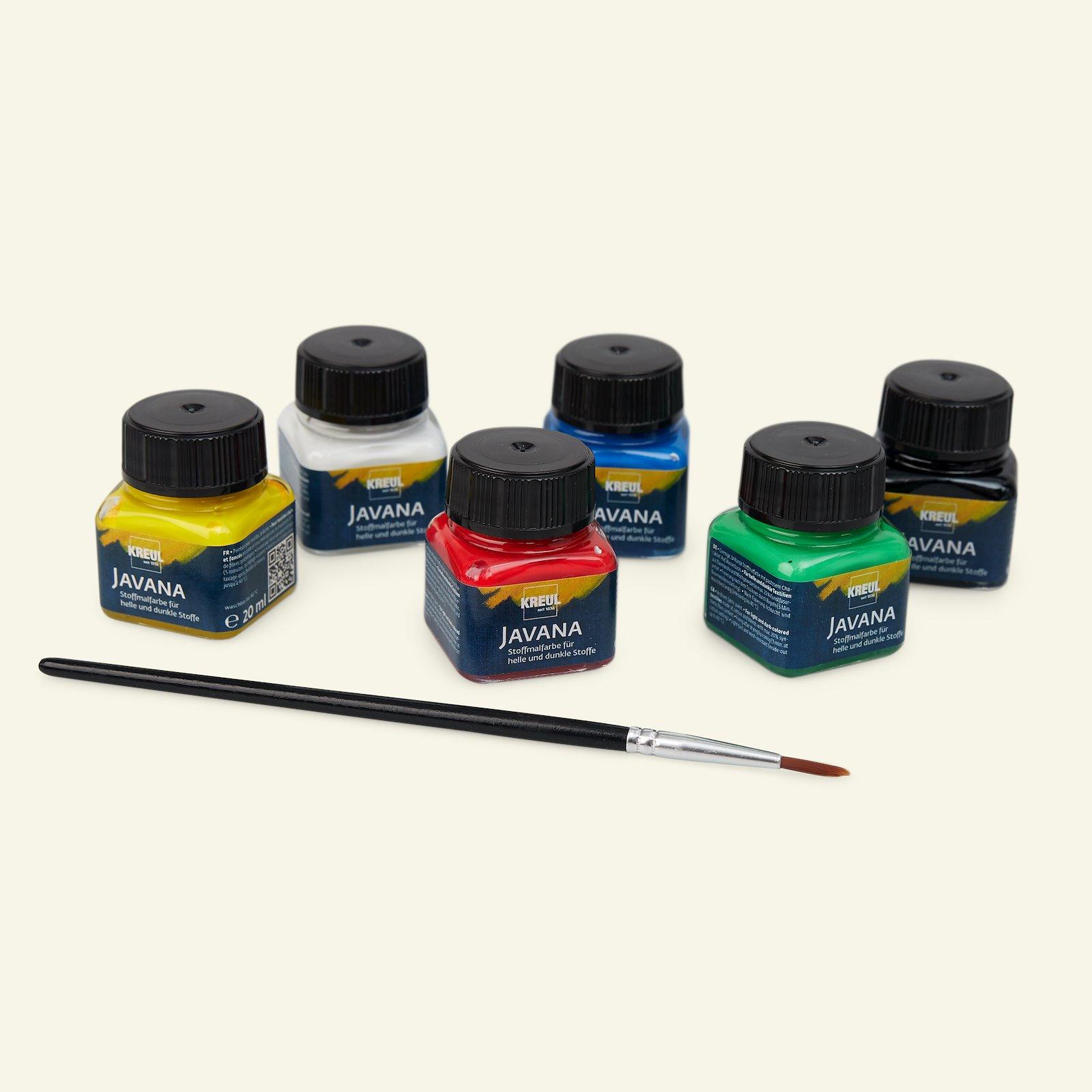 Javana opq fabric paints basic 6x20ml 29554_pack_b