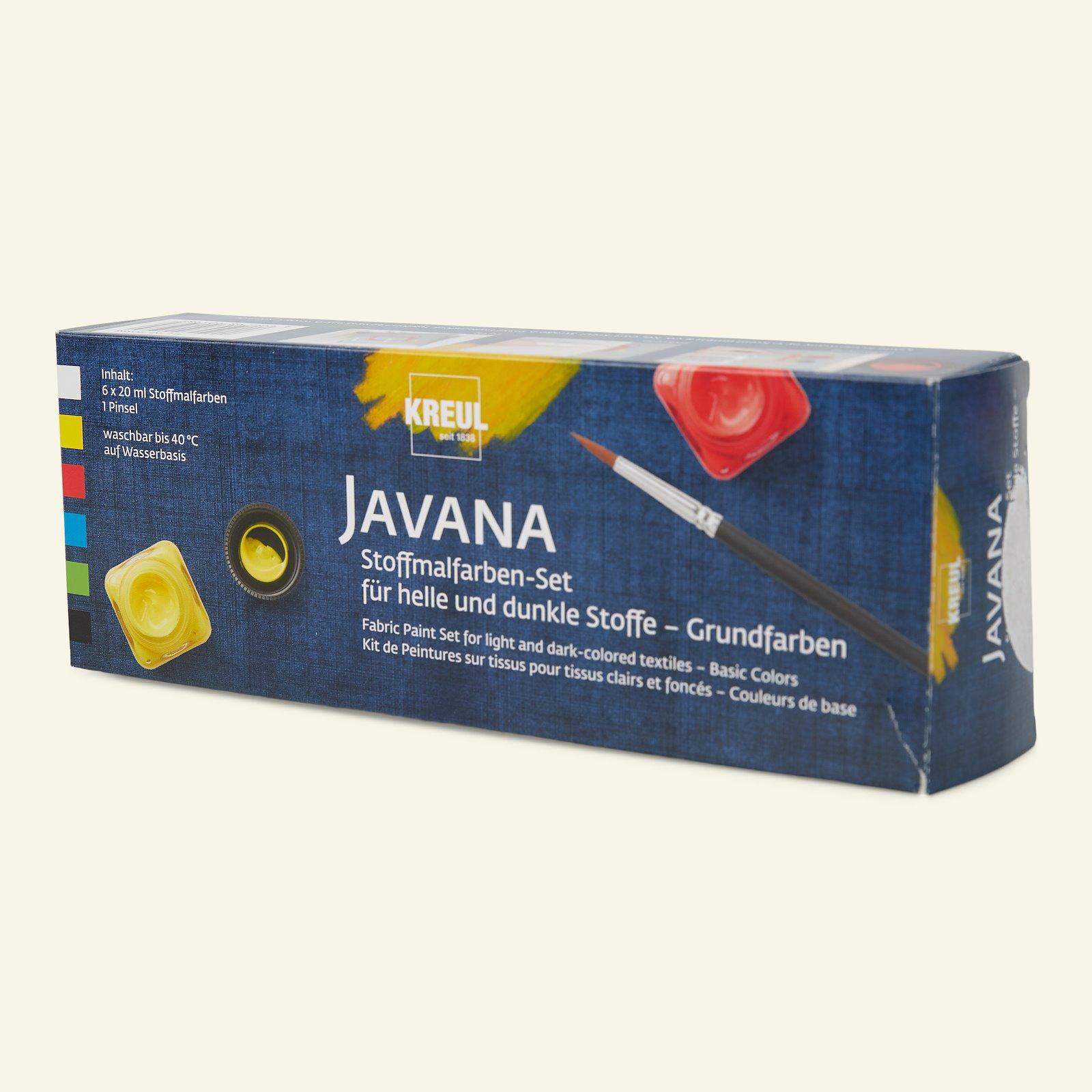 Javana opq fabric paints basic 6x20ml 29554_pack_c