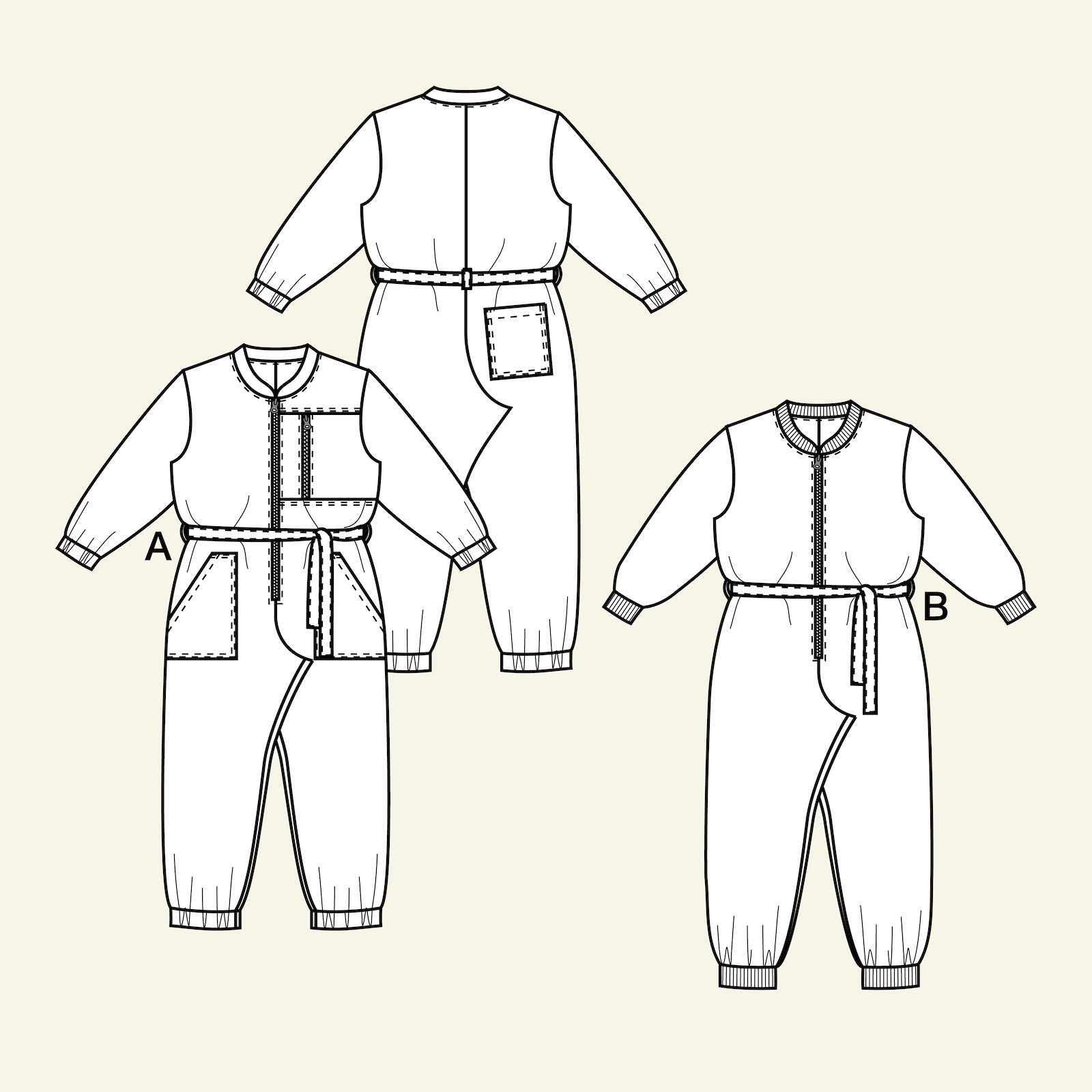 Jumpsuit, 122/7y p65022_pack